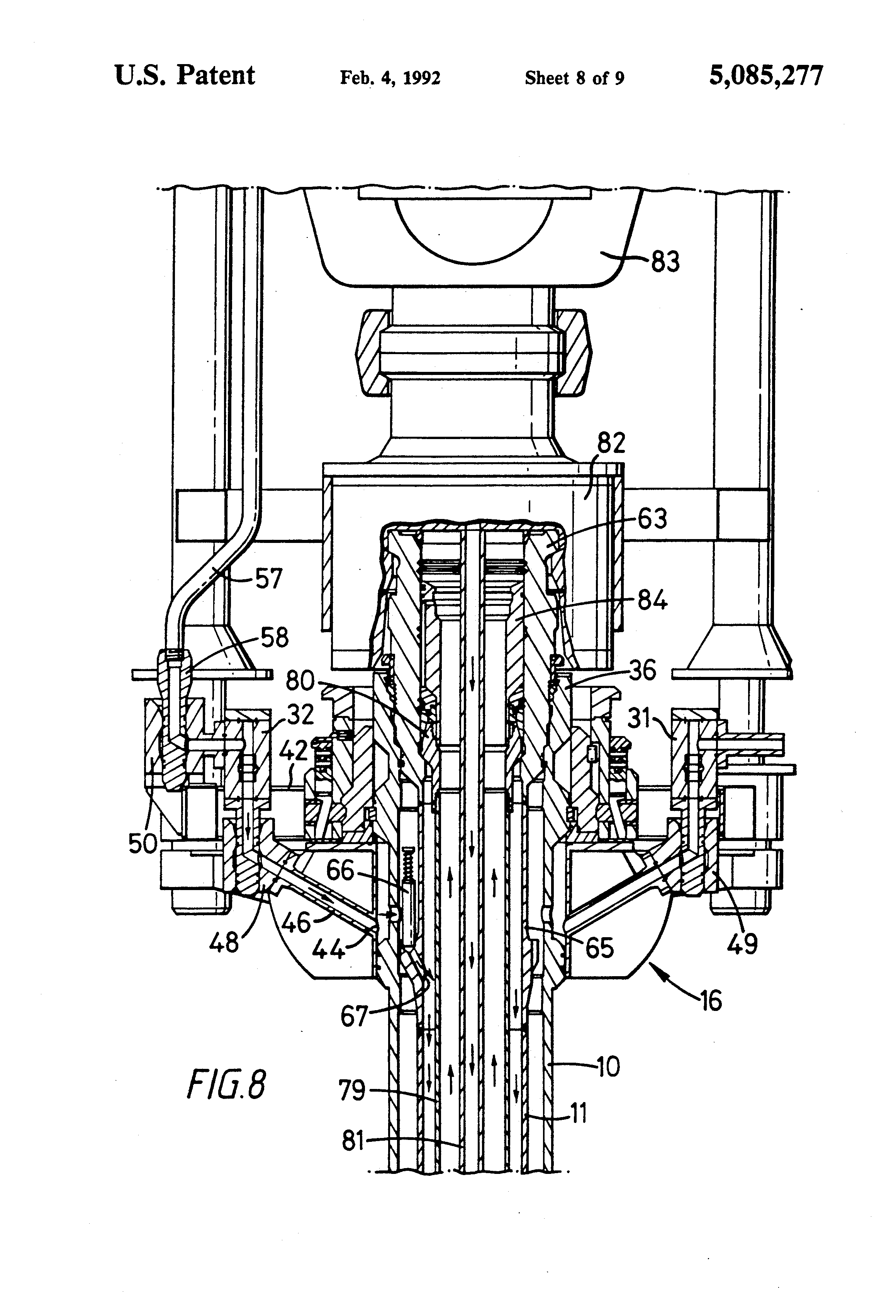 patent us5085277 sub sea well injection system google patents
