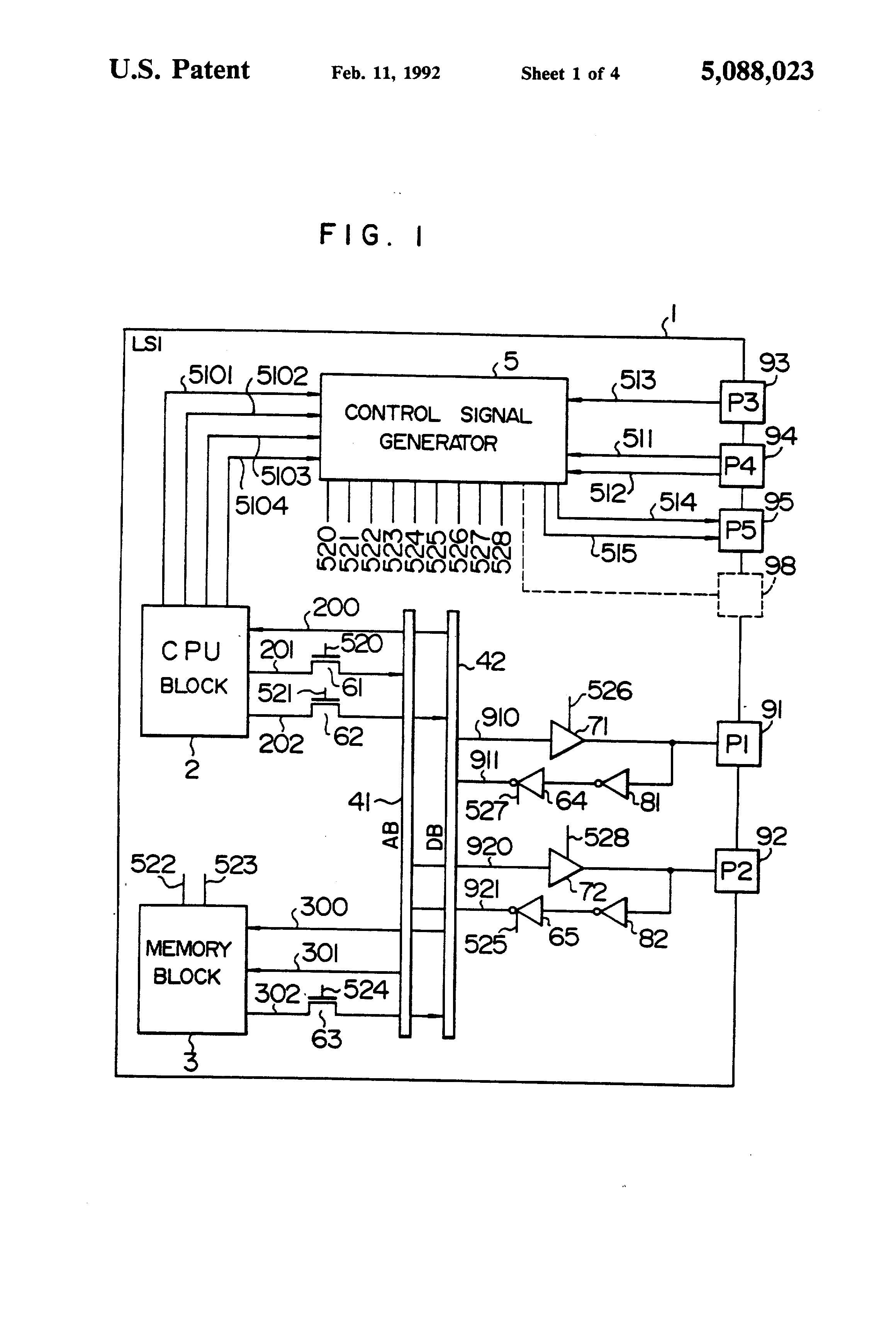 patent us5088023