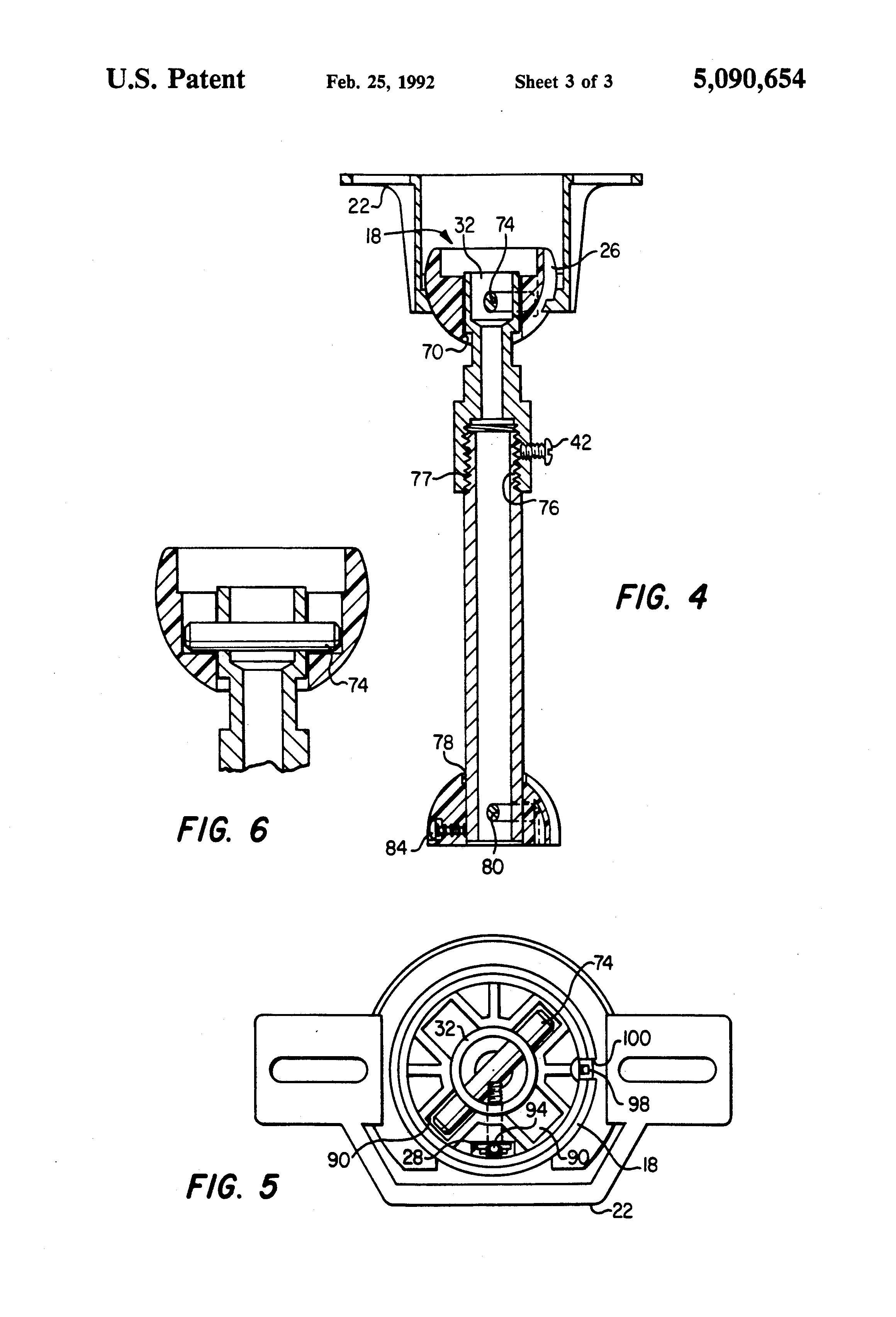 Patent US Cathedral ceiling adapter Google Patents