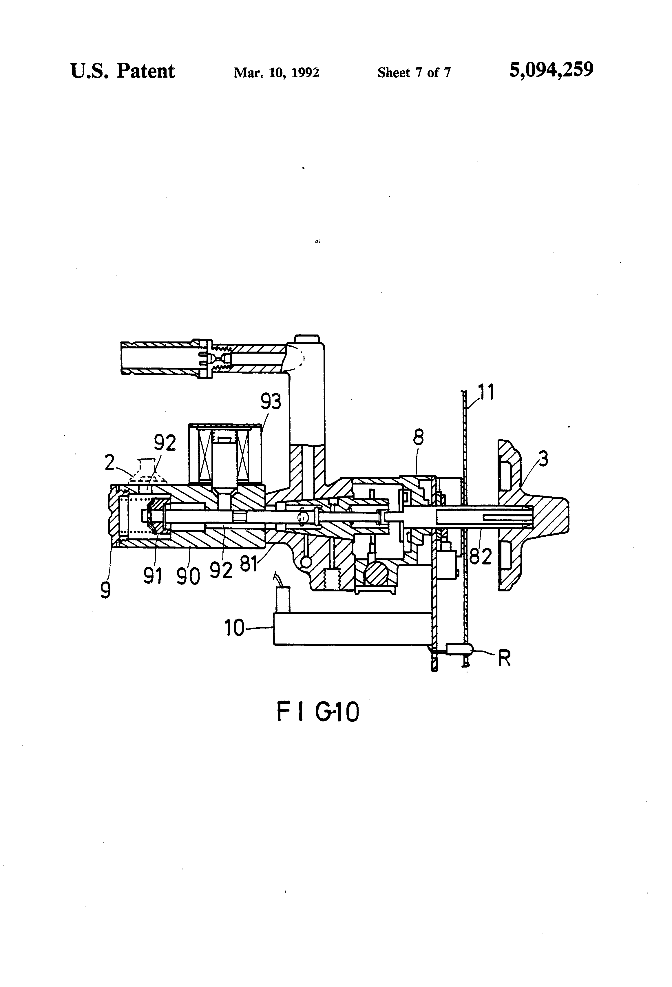 Patent US5094259 - Automatic shut-off safety device for gas stove ...