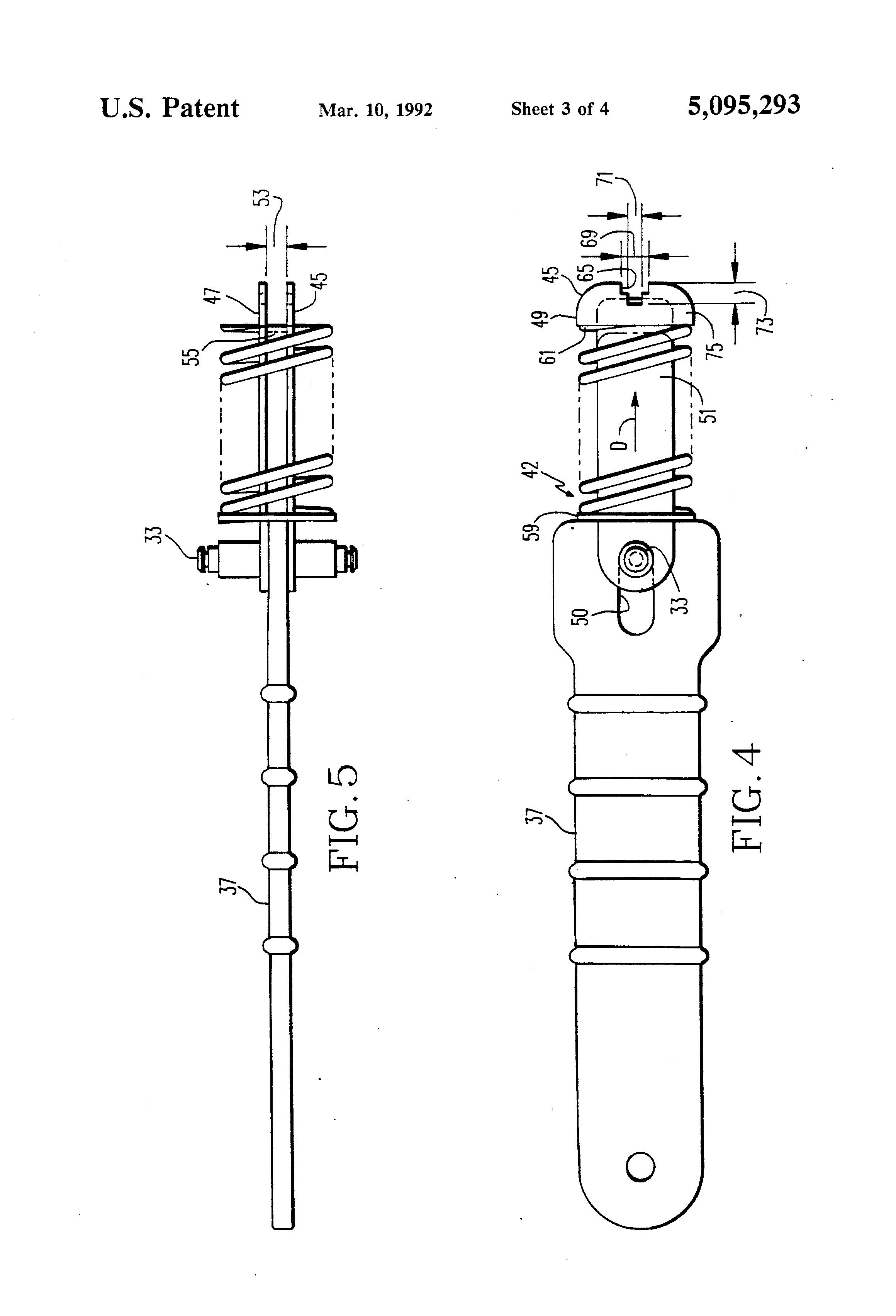 patent us5095293