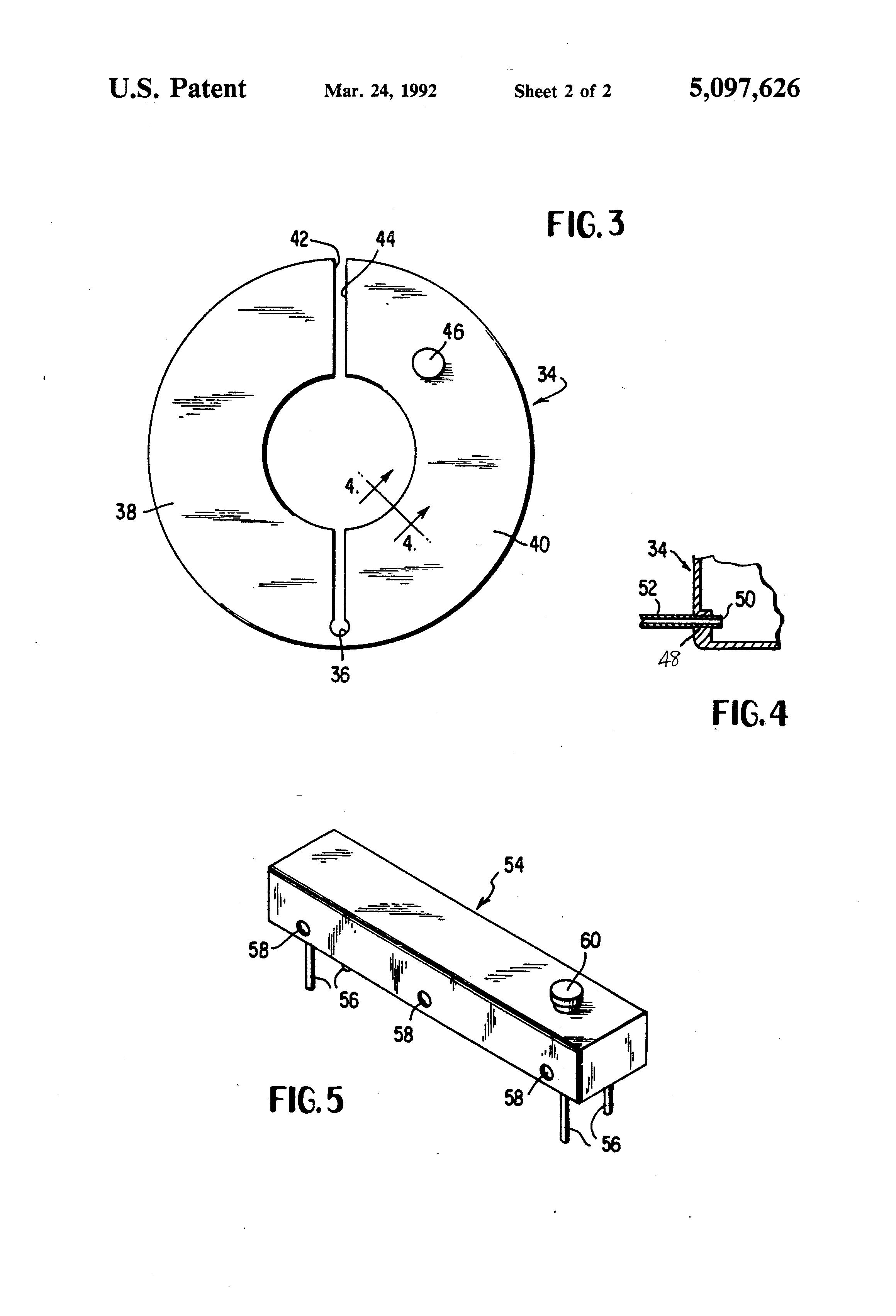 patent us5097626
