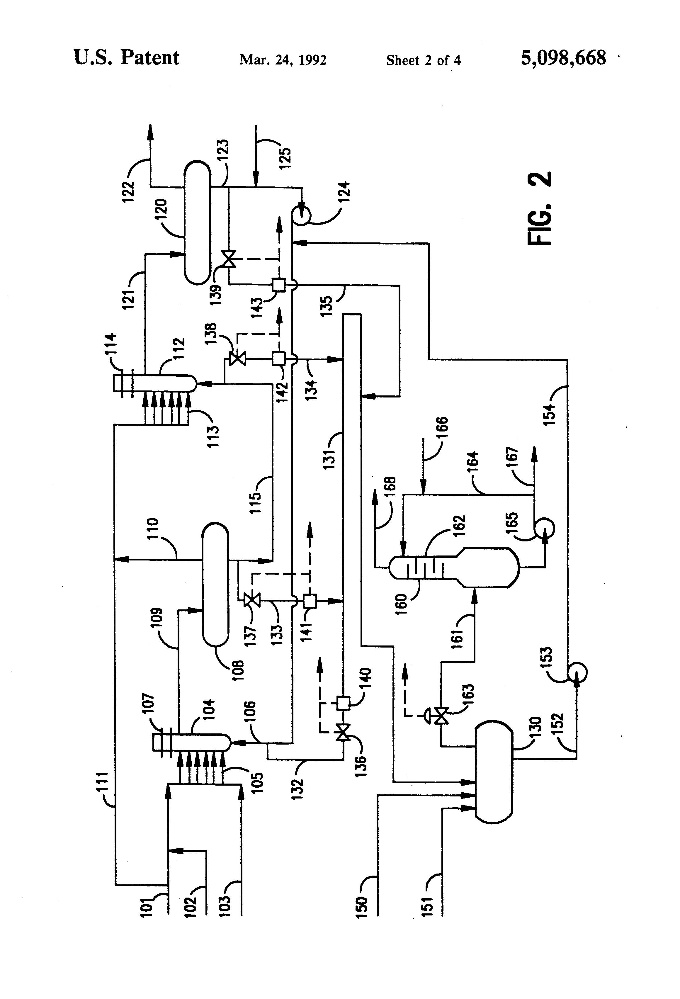 patent us5098668 - hf alkylation unit with acid evacuation system