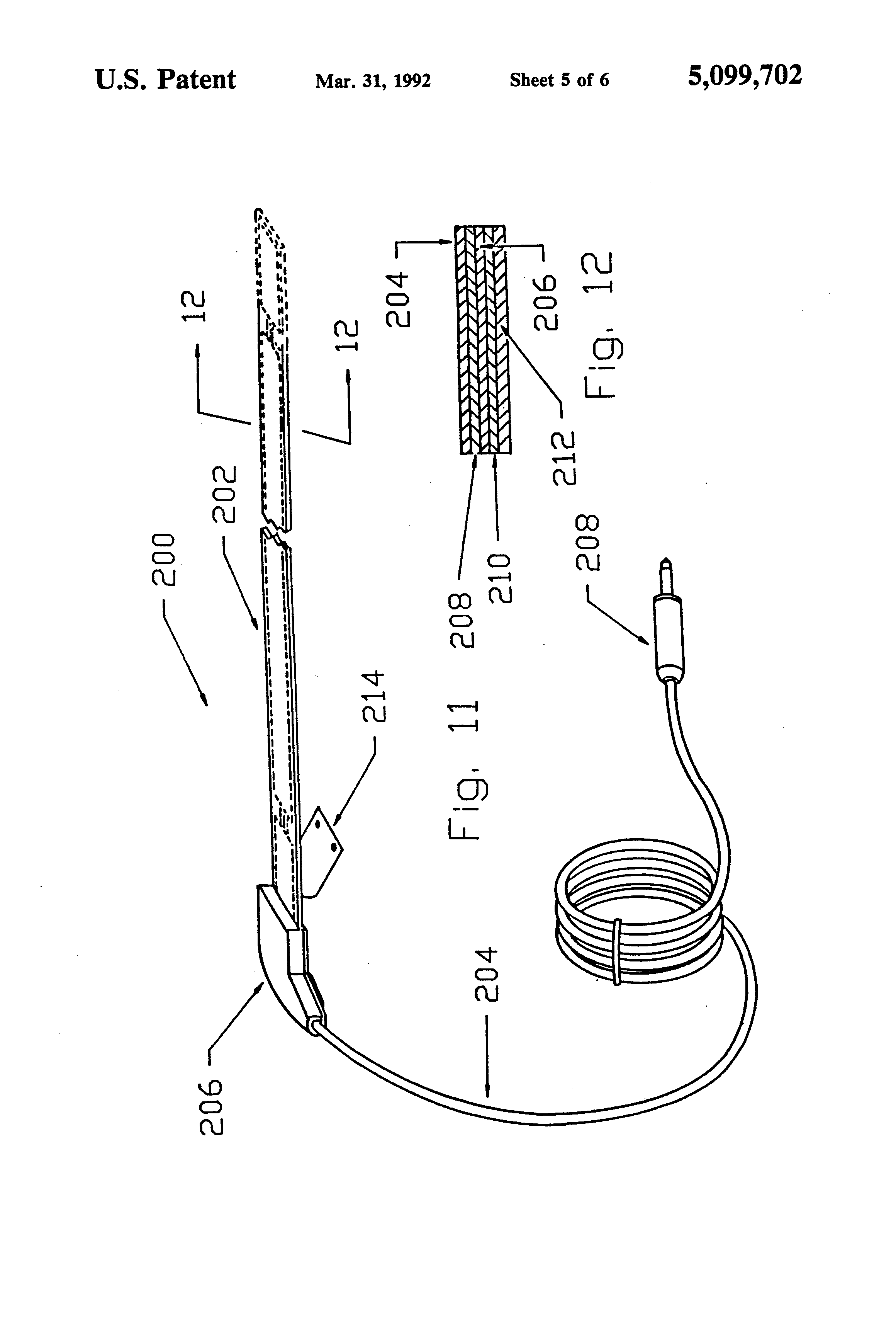 patent us5099702