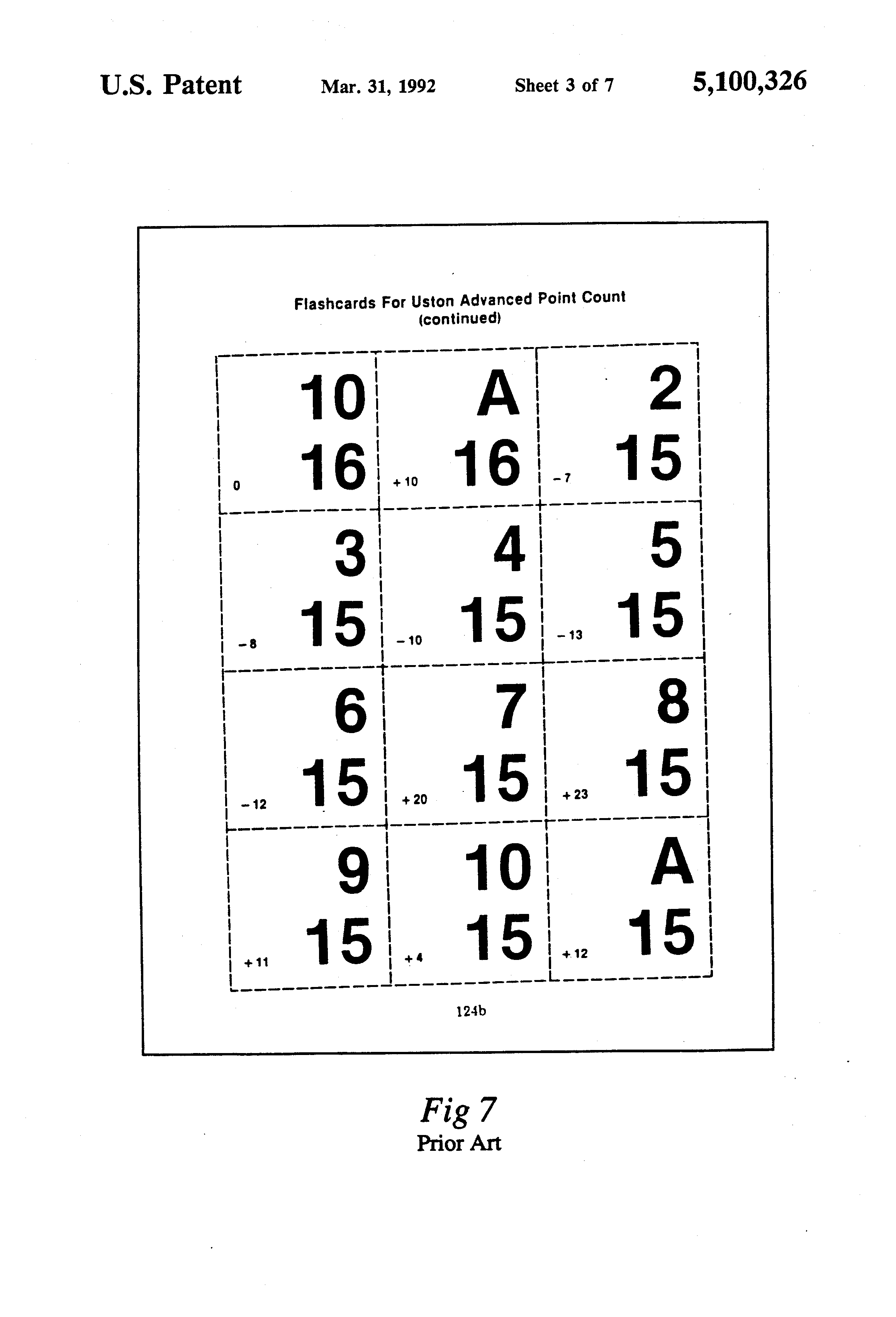 Multiplication table flash cards printable image collections patent us5100326 flash cards for teaching and practicing patent drawing gamestrikefo image collections gamestrikefo Images