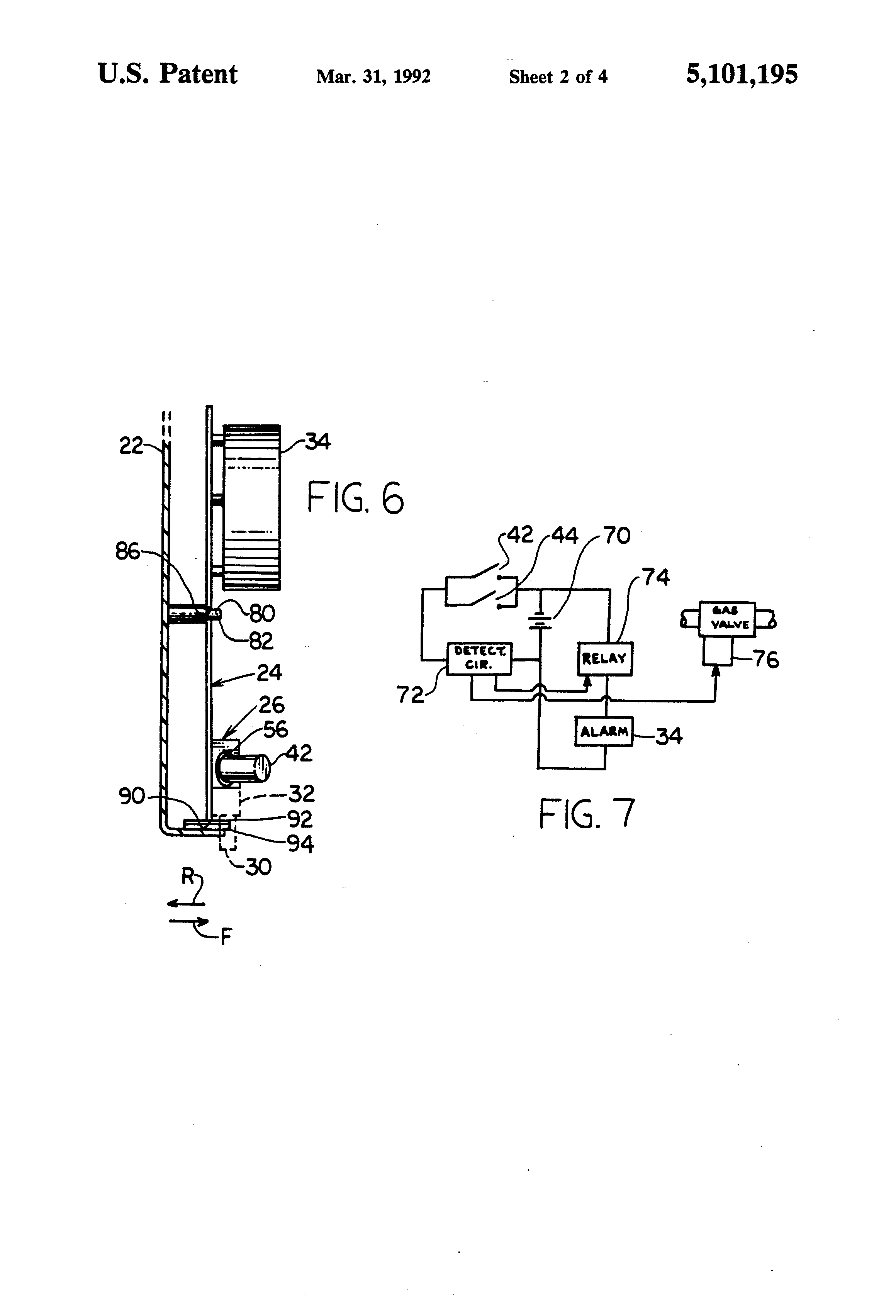 patent us5101195
