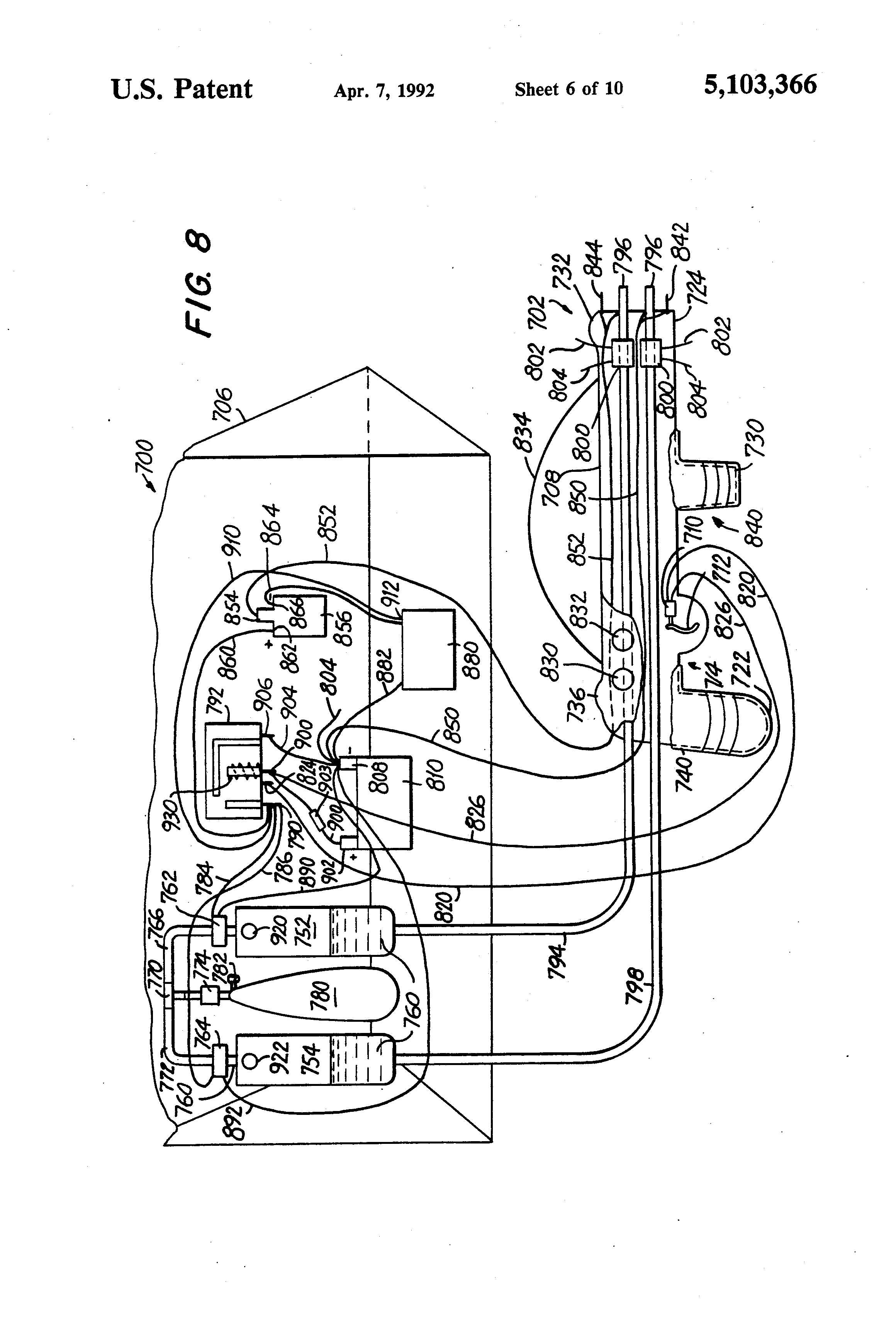 patent us5103366 - electrical stun guns and electrically conductive liquids