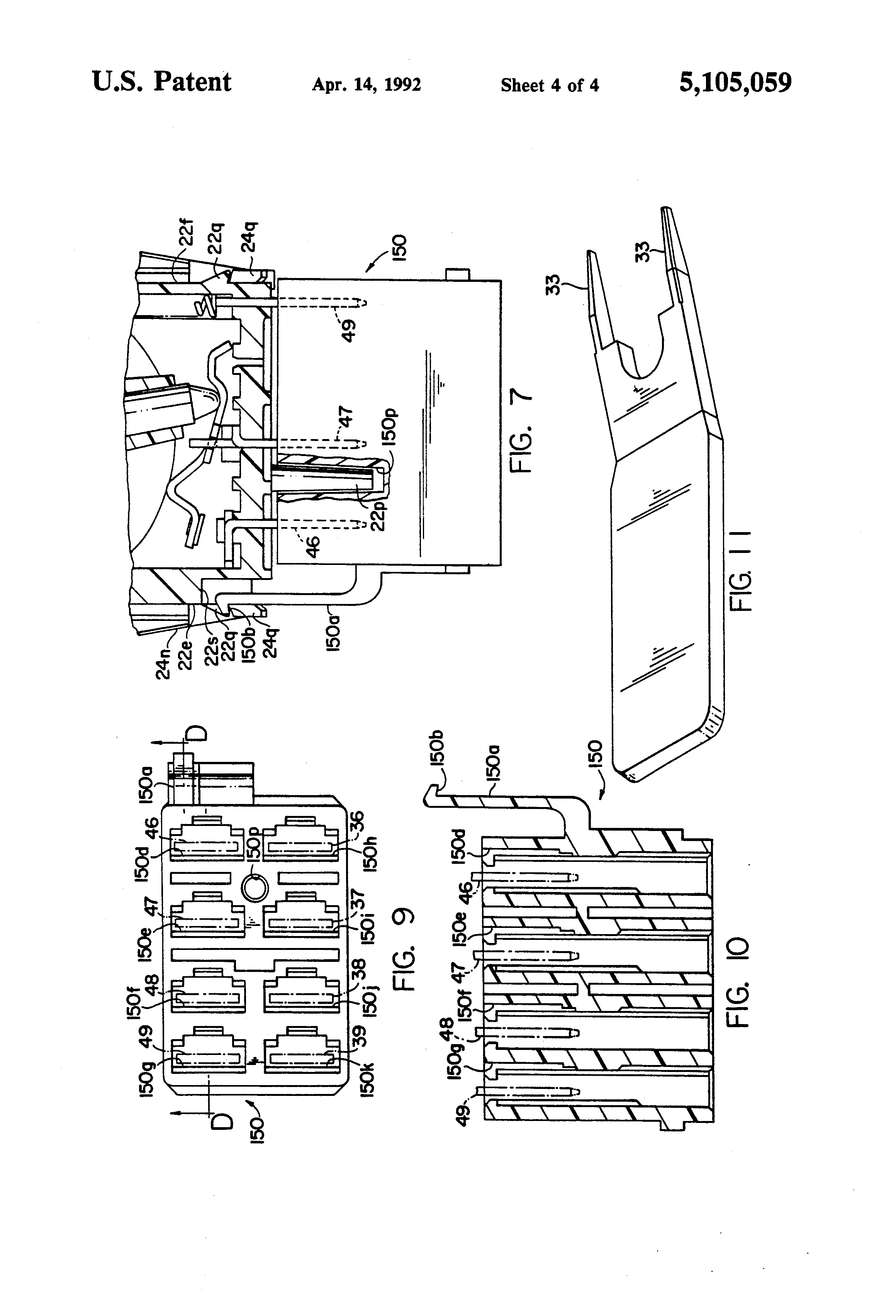 US5105059 4 patent us5105059 environmentally sealed switch construction carling technologies rocker switch wiring diagram at pacquiaovsvargaslive.co