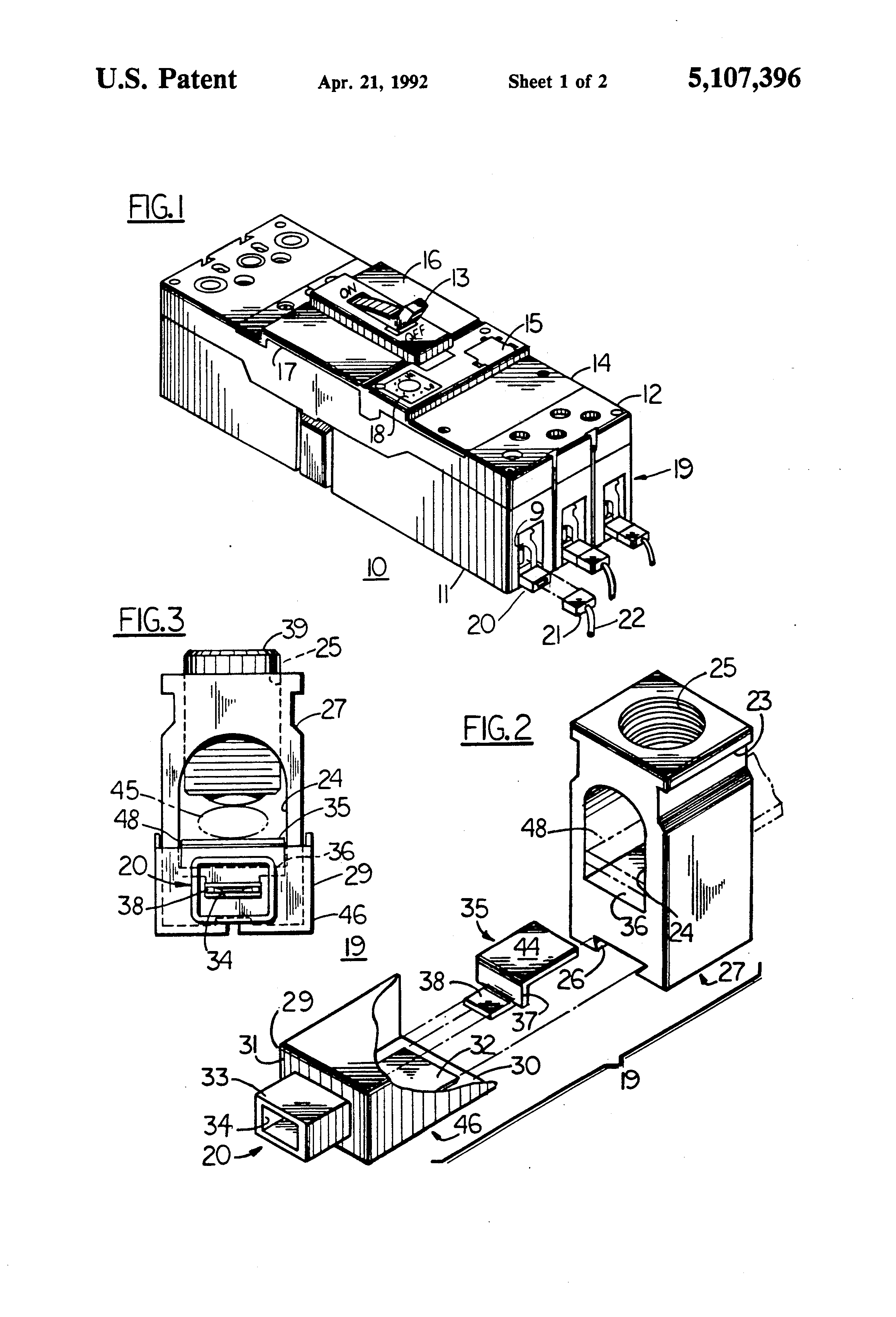 patent us5107396