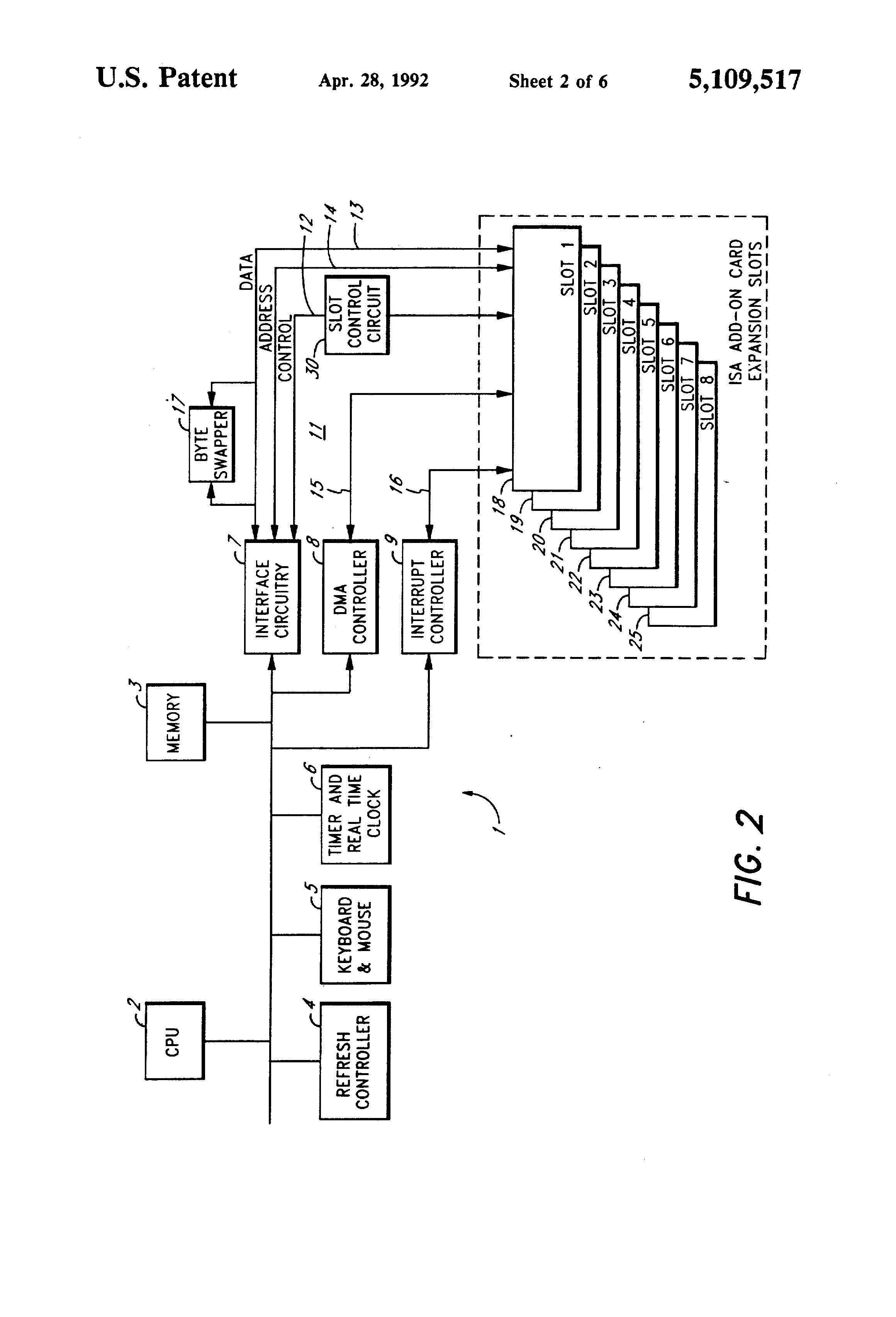 patent us5109517