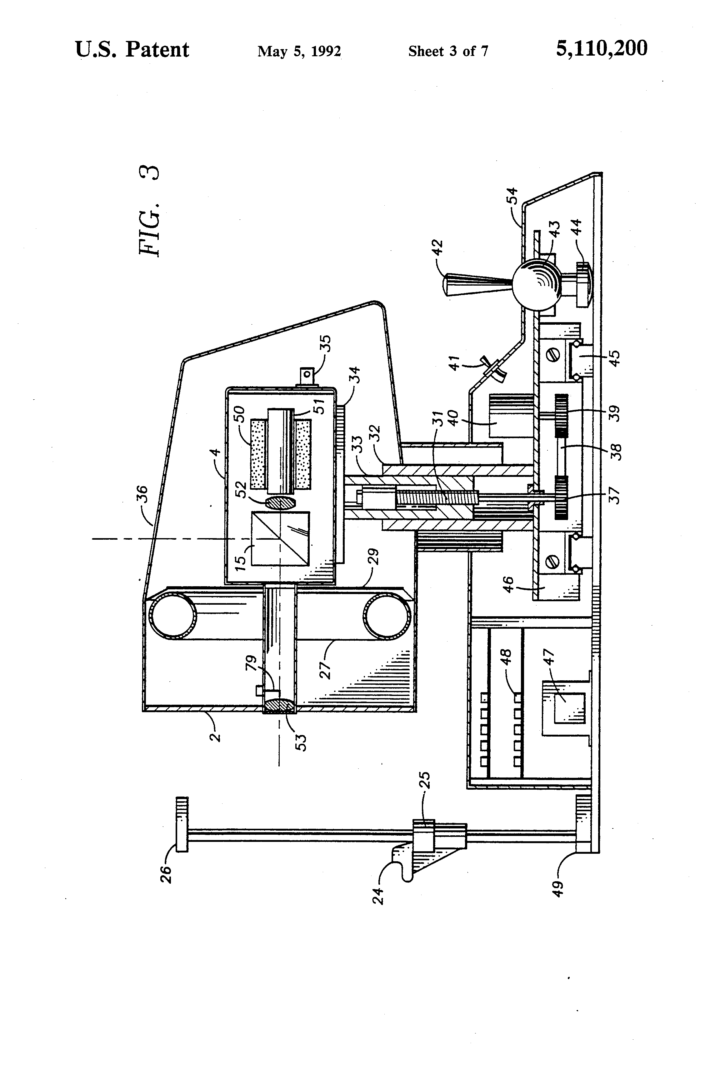 patent us5110200 - video keratometer