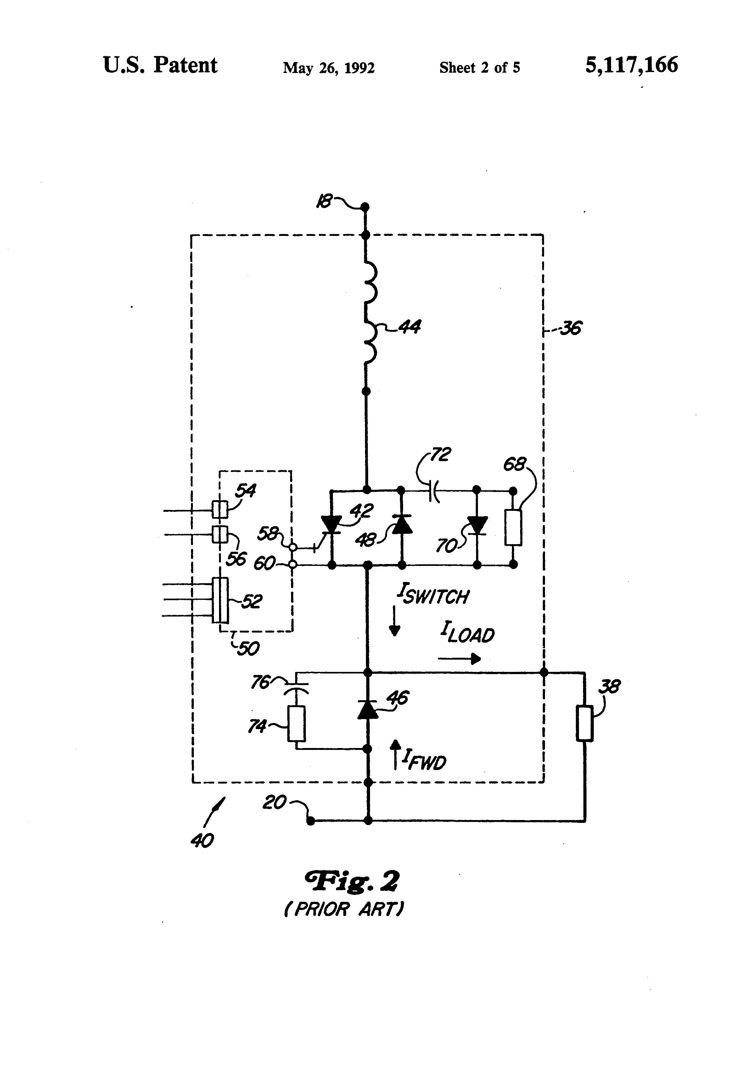 Patent us5117166 chopper circuit for dynamic braking in for Electric motor dynamic braking