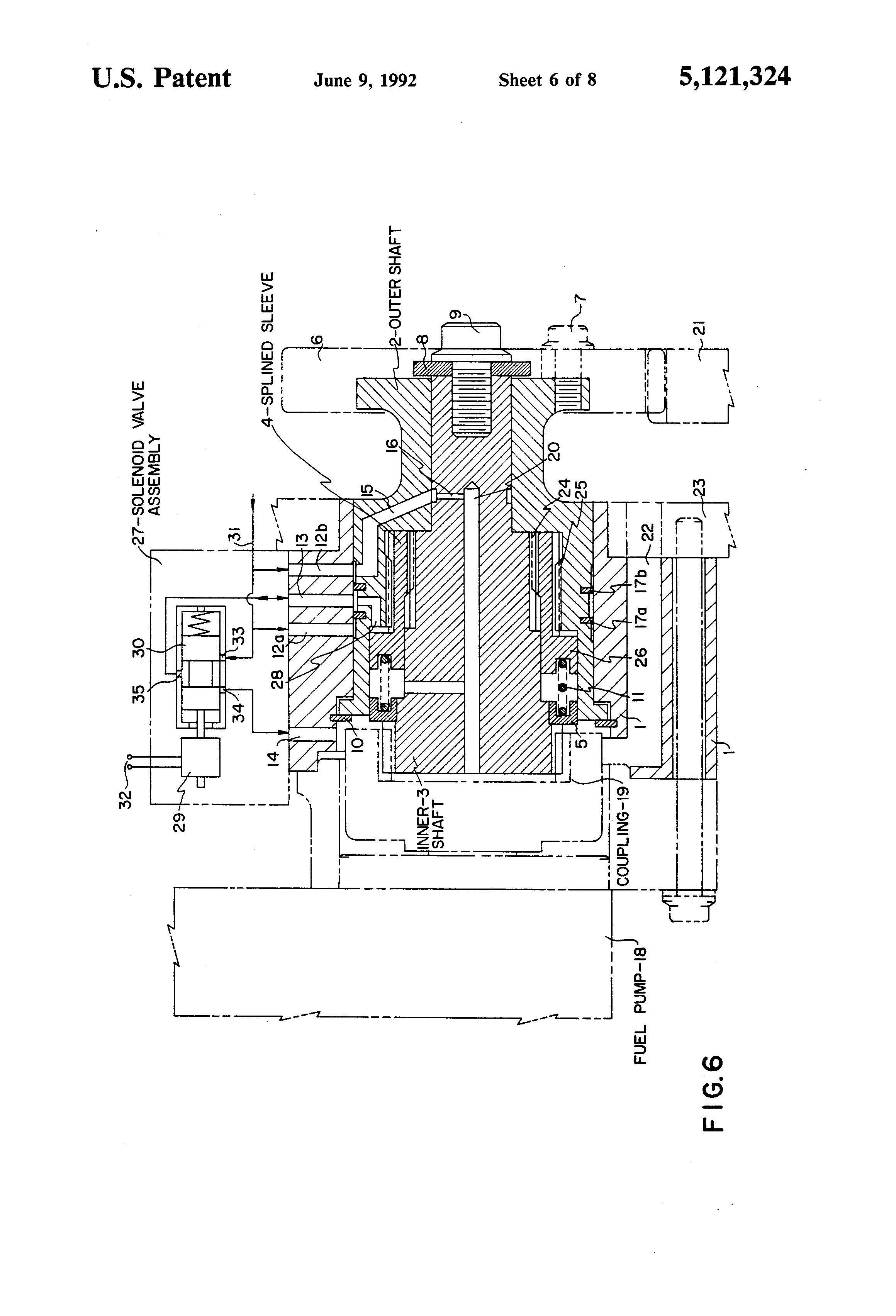 patent us5121324 motor vehicle magagement and system including solenoid actuated fuel