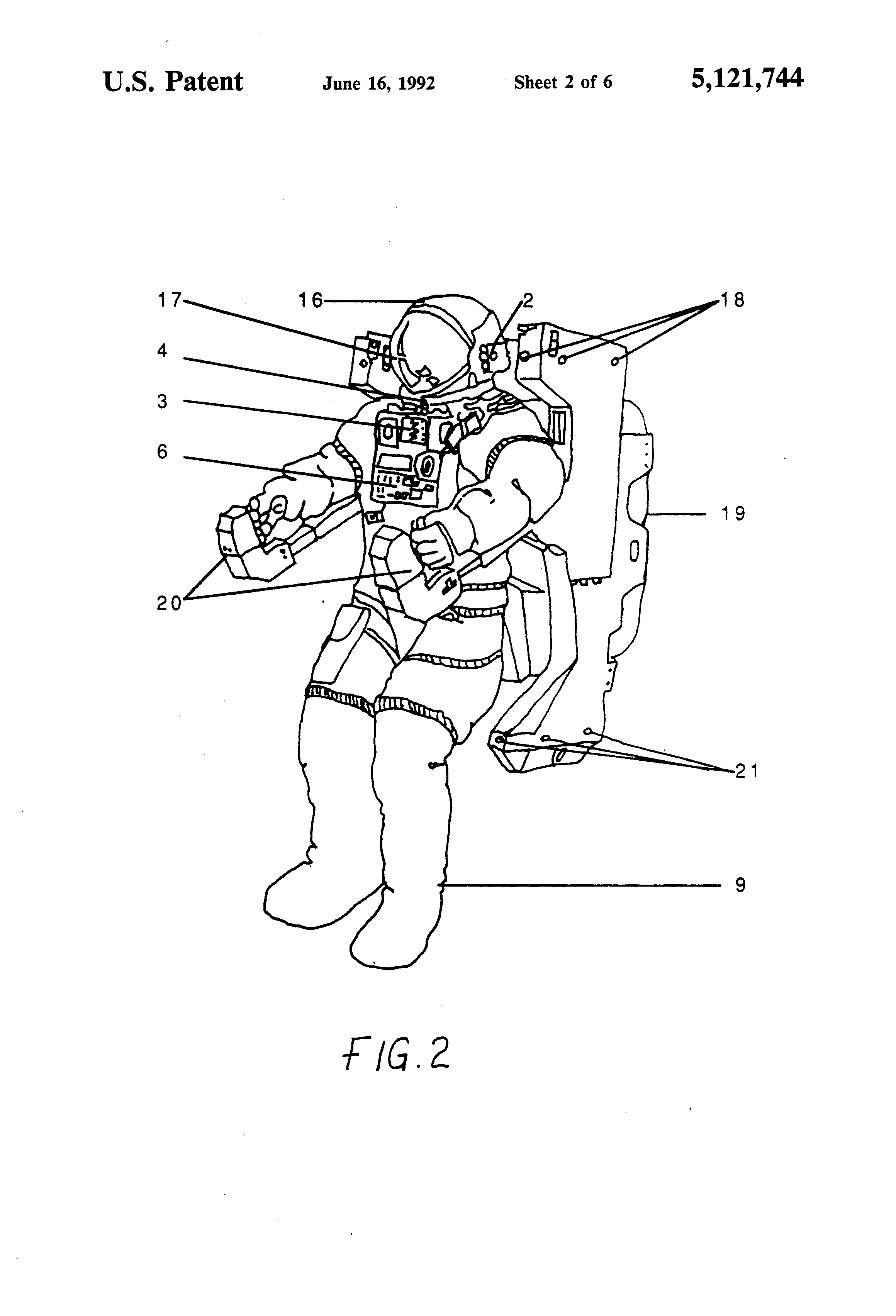 Patent US5121744 - Physiological G-suit modulator - Google Patents
