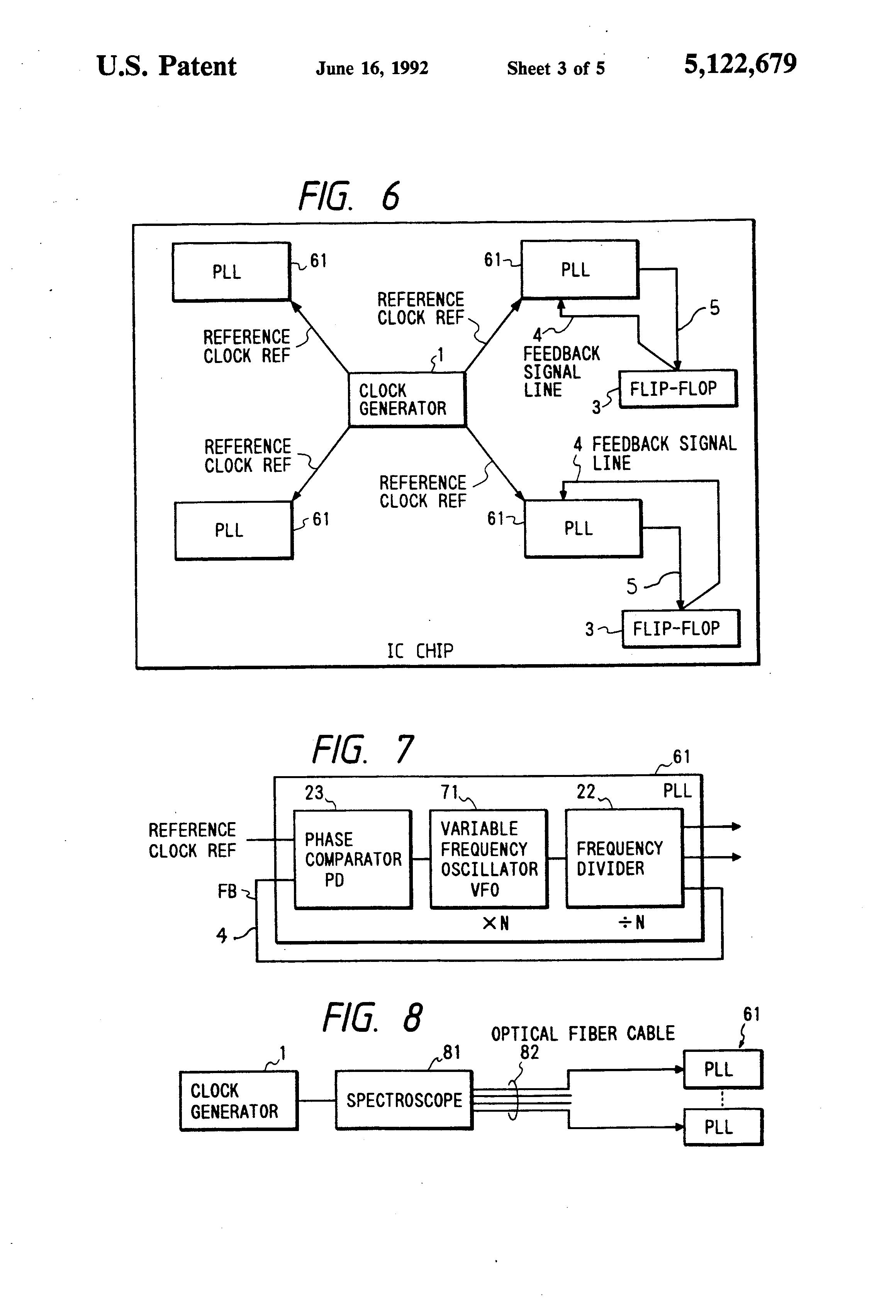 Patent Us5122679 Integrated Logic Circuit With Clock Skew Unichip Wiring Diagram Drawing