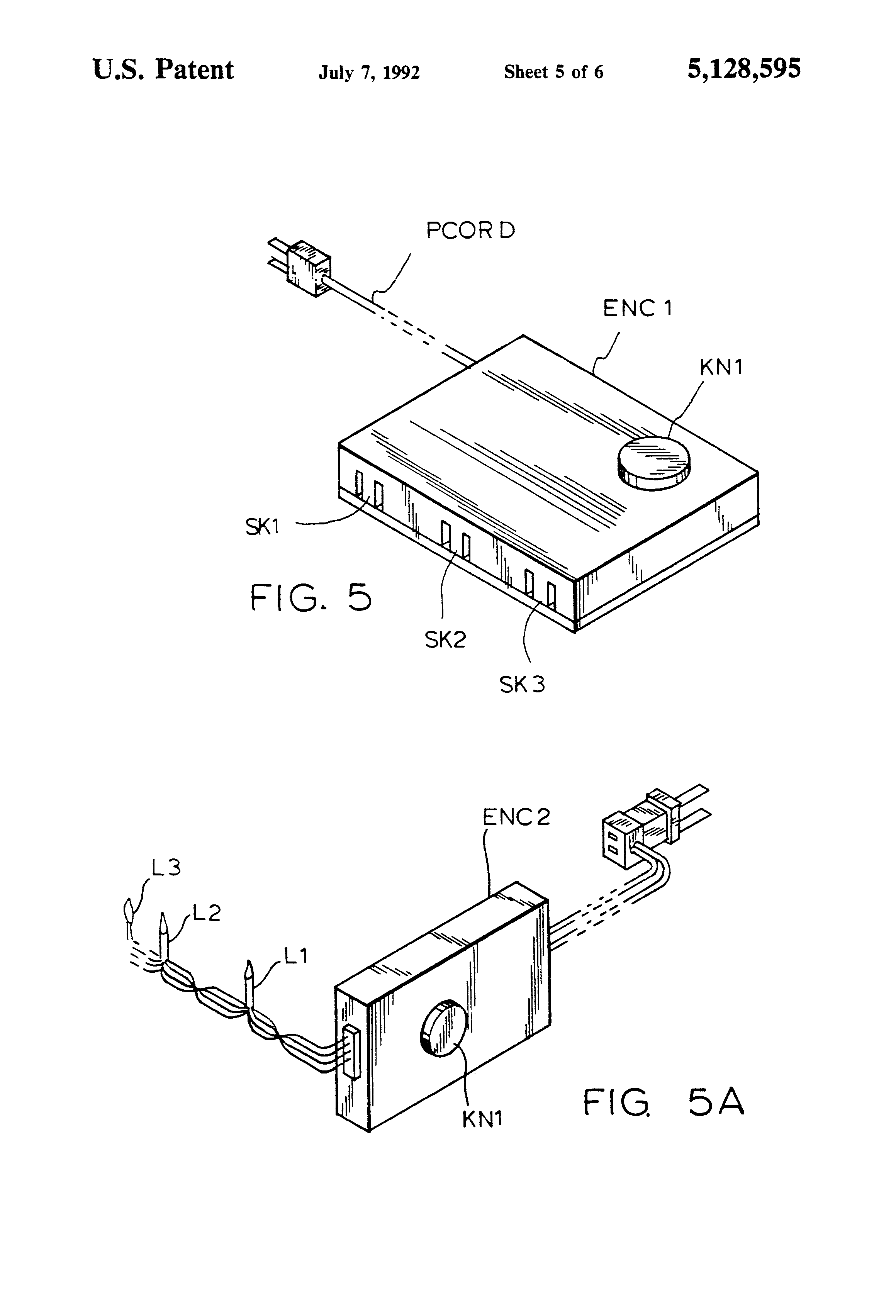 Patent Us5128595 Fader For Miniature Lights Google Patents Drive Scr Flash Circuit Diagram Powersupplycircuit Drawing
