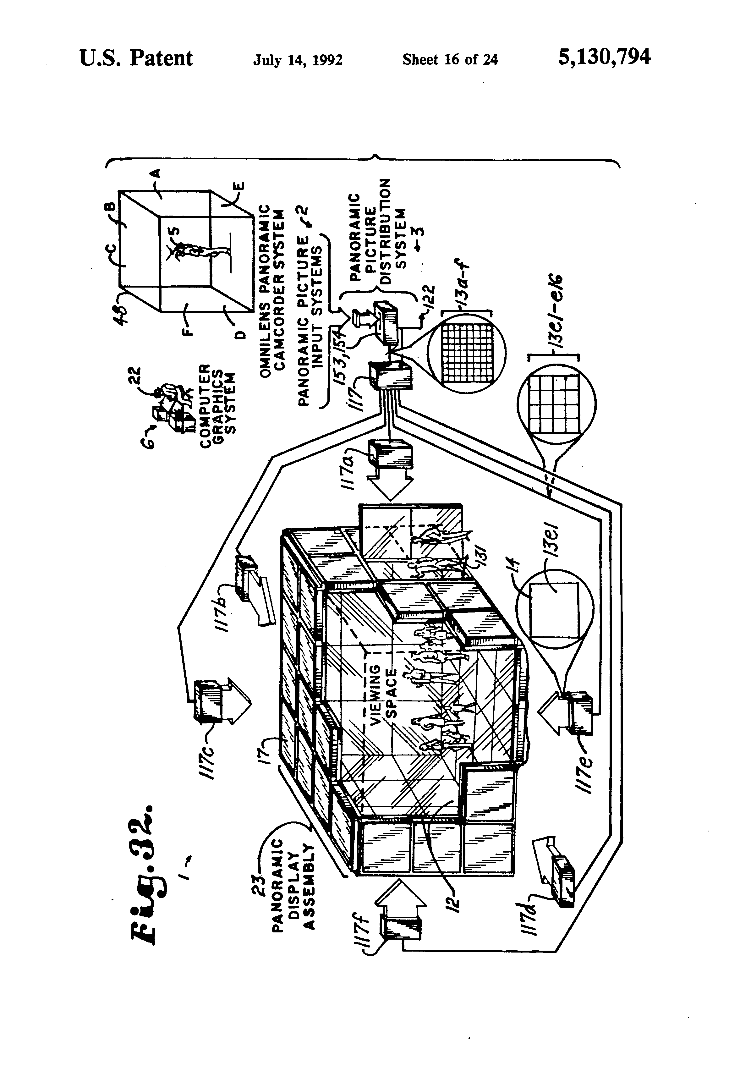 Fiatagri F 130 Manual Datsun Radio Wiring Array Patent Us5130794 Panoramic Display System Google Patents Rh