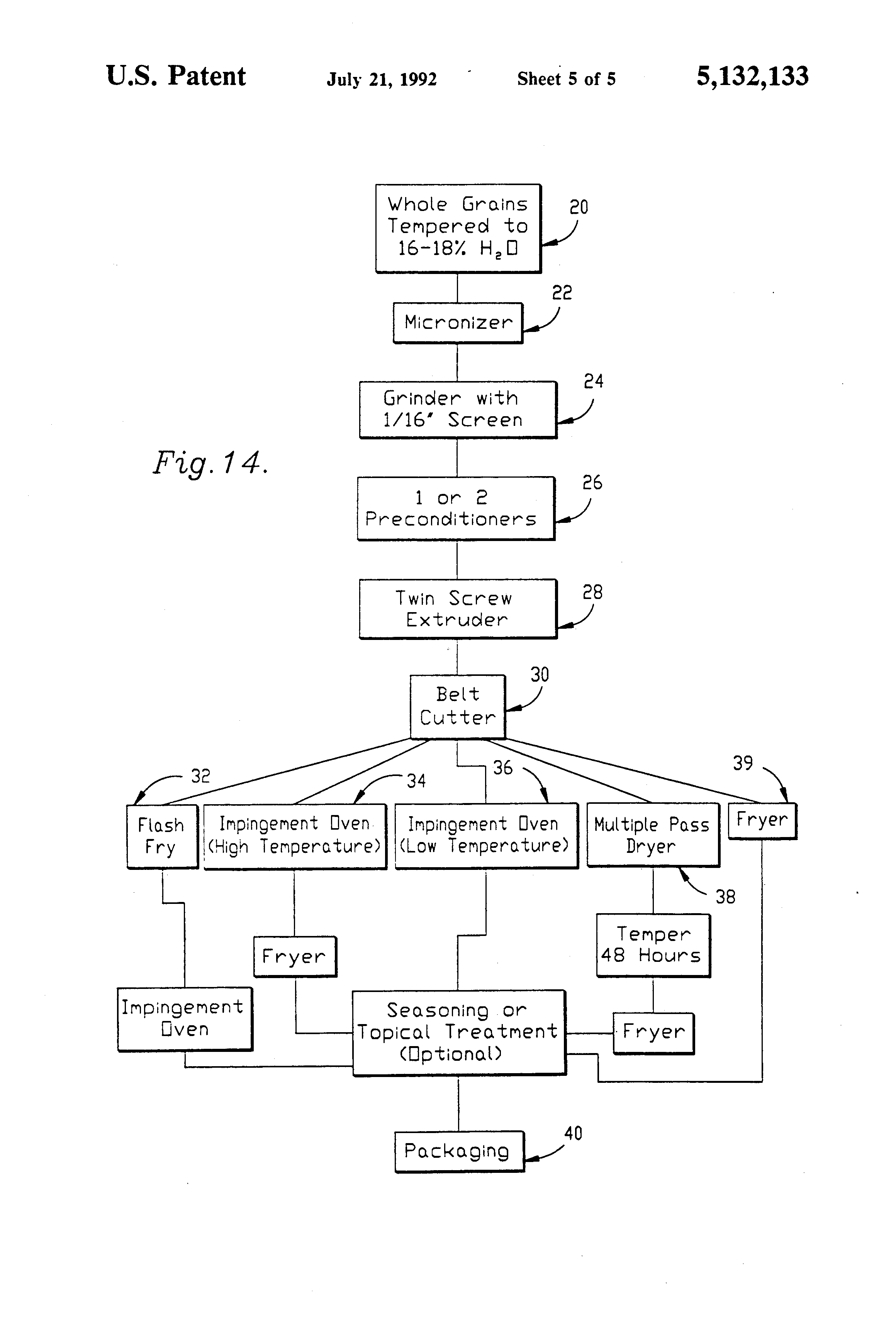 patent us reduced calorie palatable snack product and patent drawing