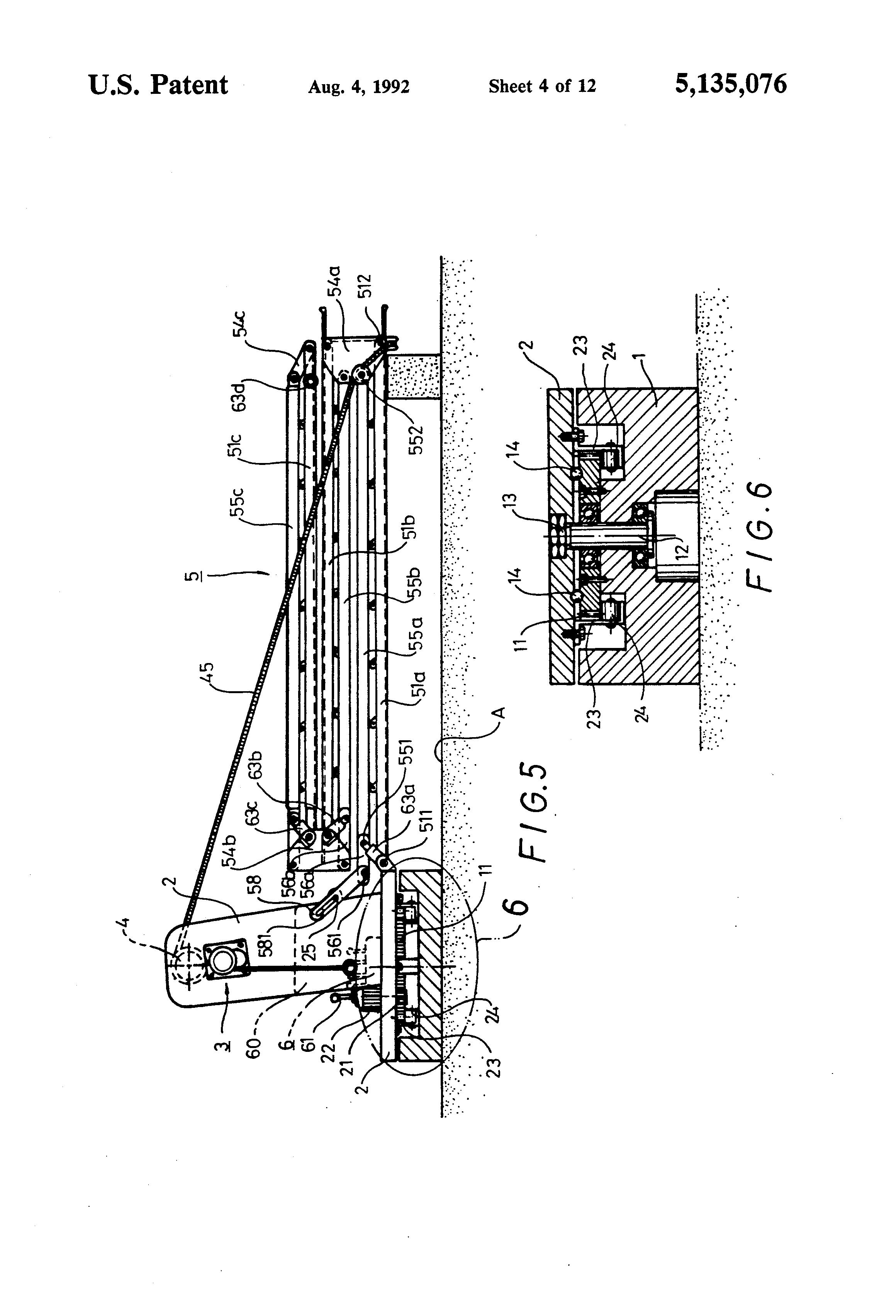 patent us5135076 - escape slideway