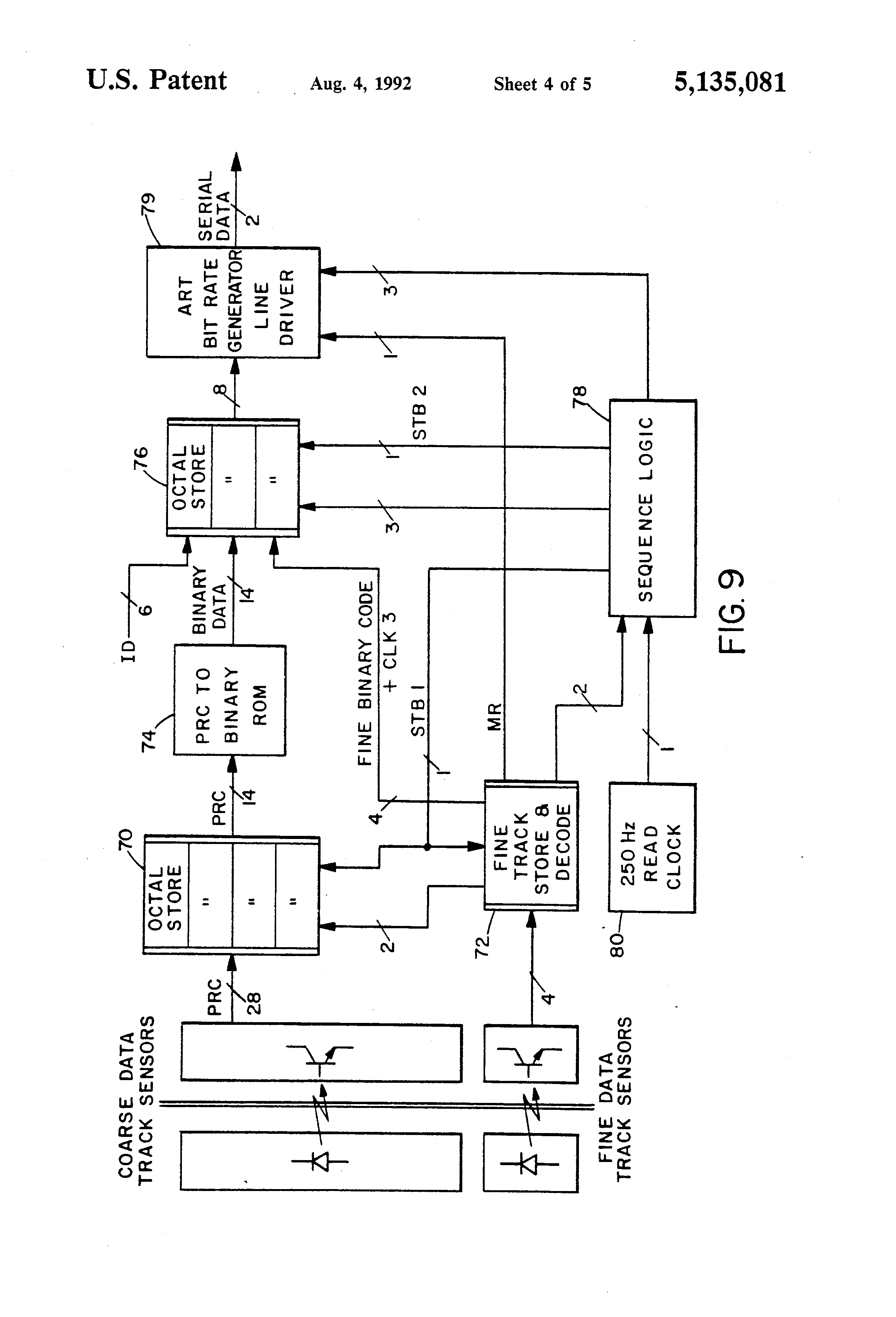 US5135081 4 patent us5135081 elevator position sensing system using coded  at bayanpartner.co