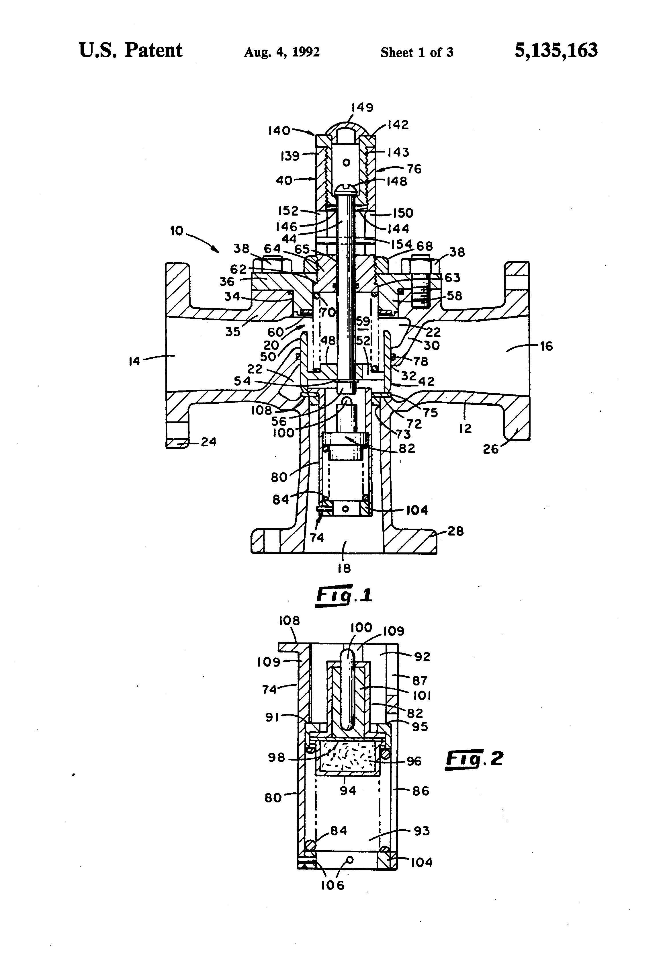patent us5135163