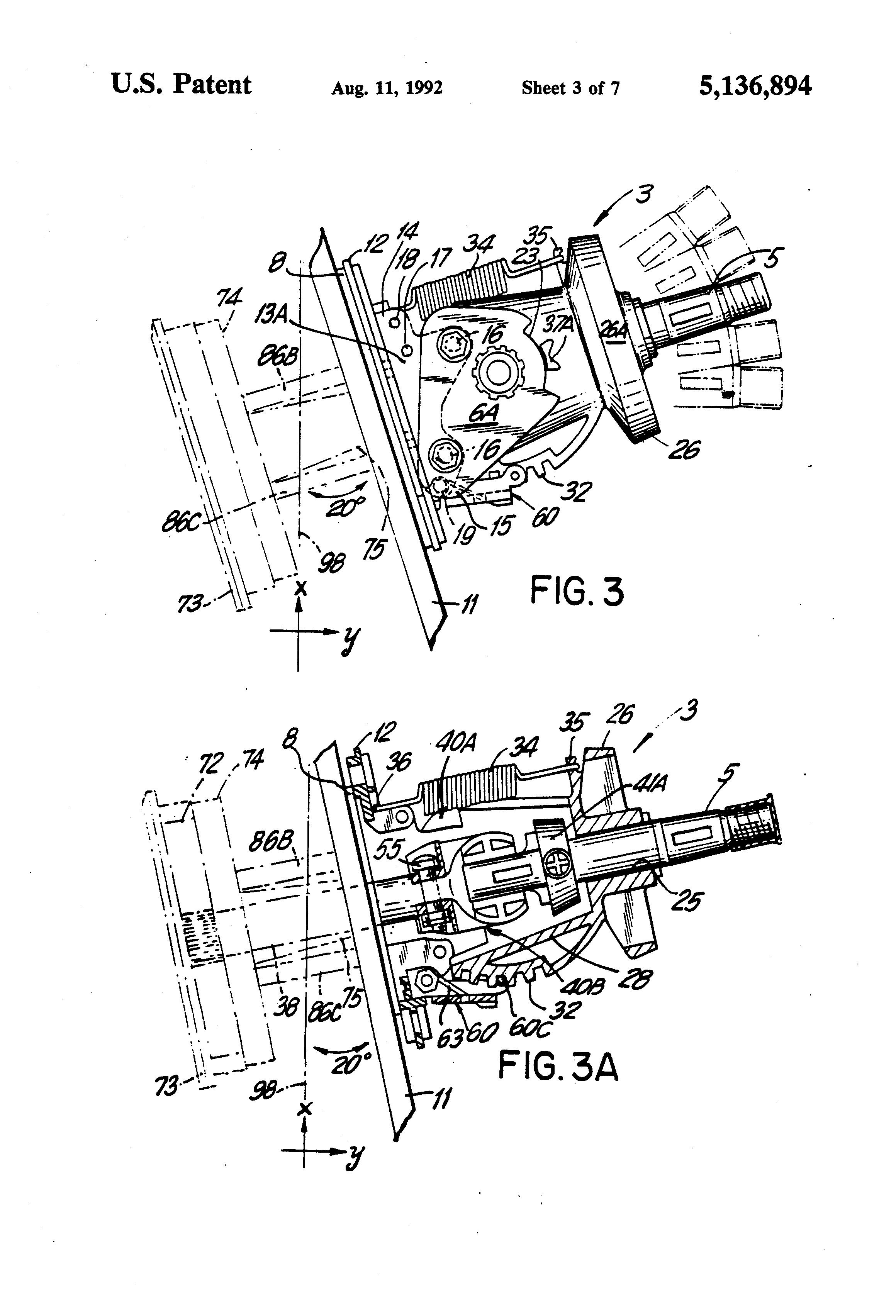 Boat Steering Wheel Coupler : Patent us tiltable marine steering helm google