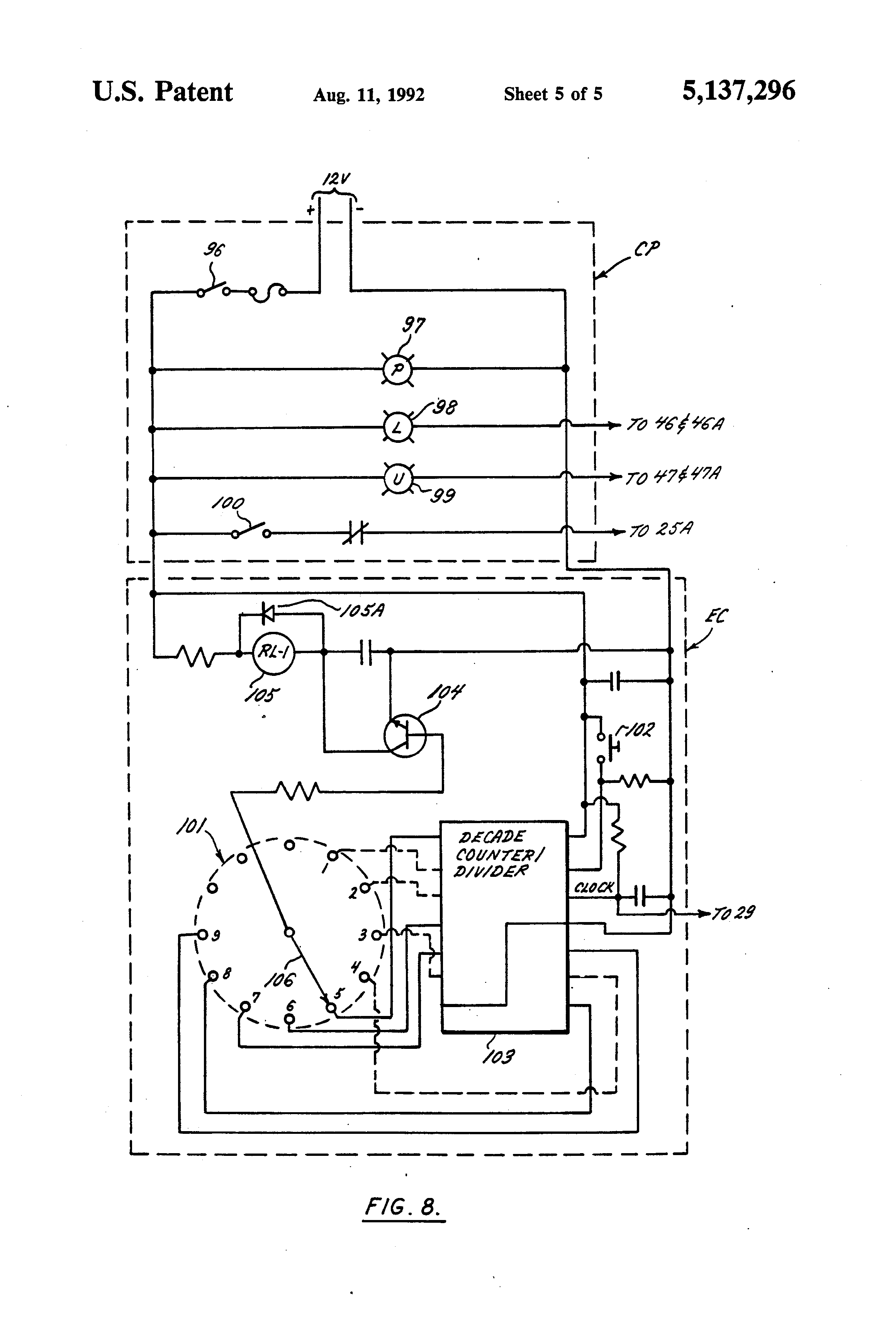 patent us5137296 power operated apparatus for adjusting the patent drawing
