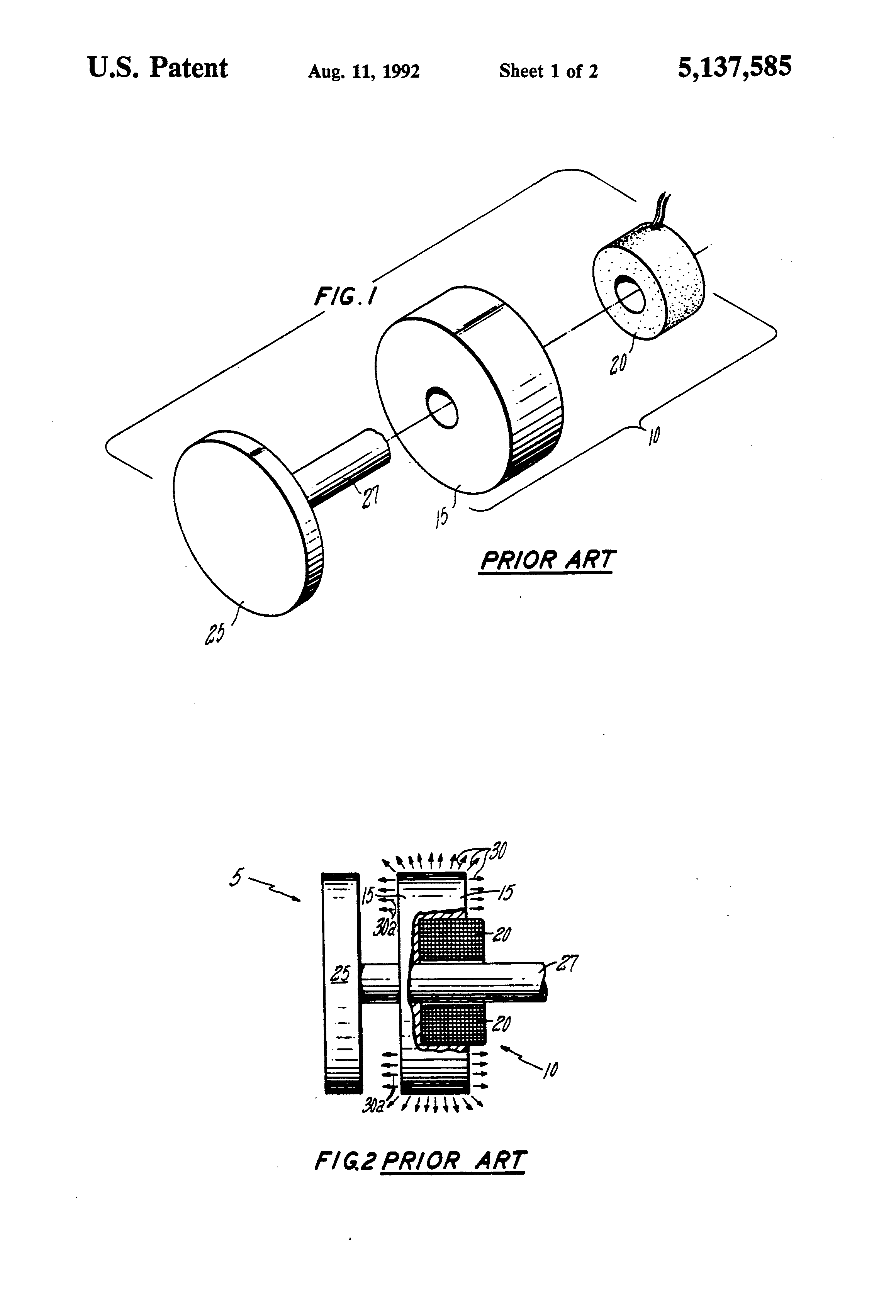 Patent Us5137585 Method Of Manufacturing A Multimetallic Article I5 Engine Diagram Drawing