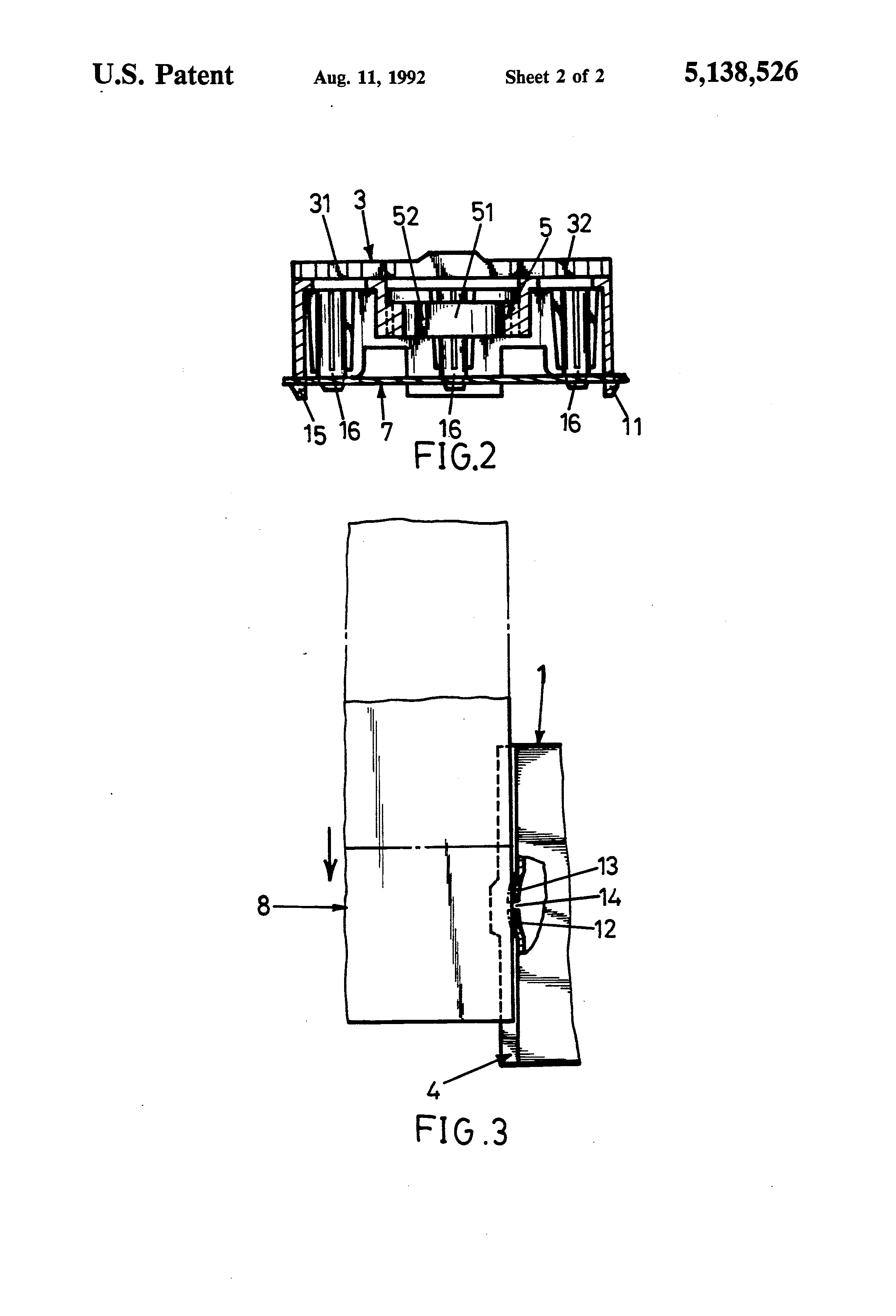 patent us5138526 - interface slot and speaker seat structure for a mother board