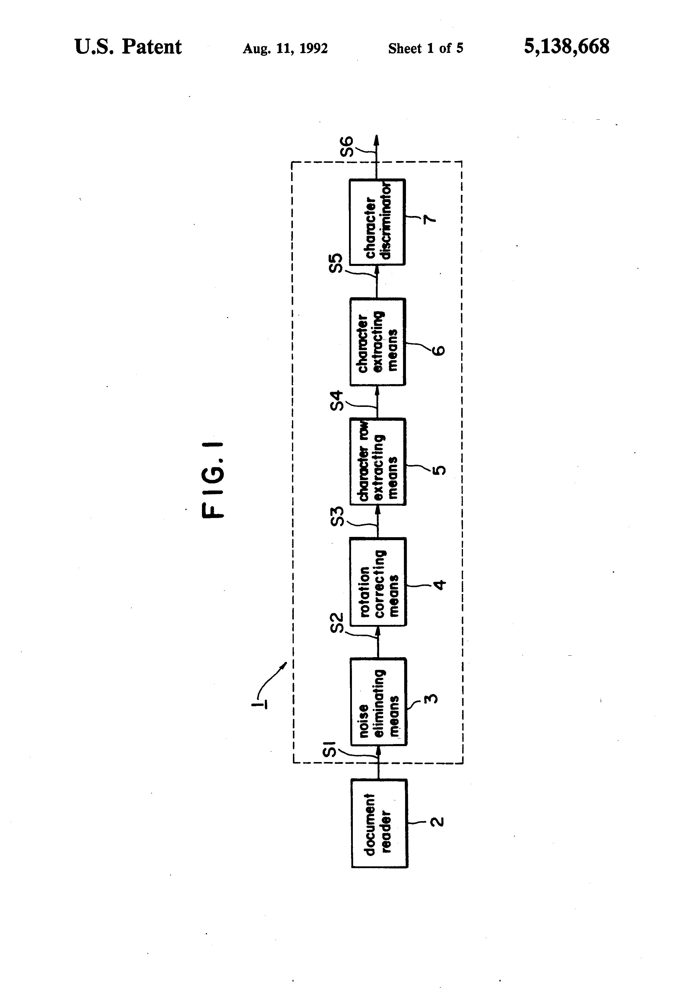 patent us5138668