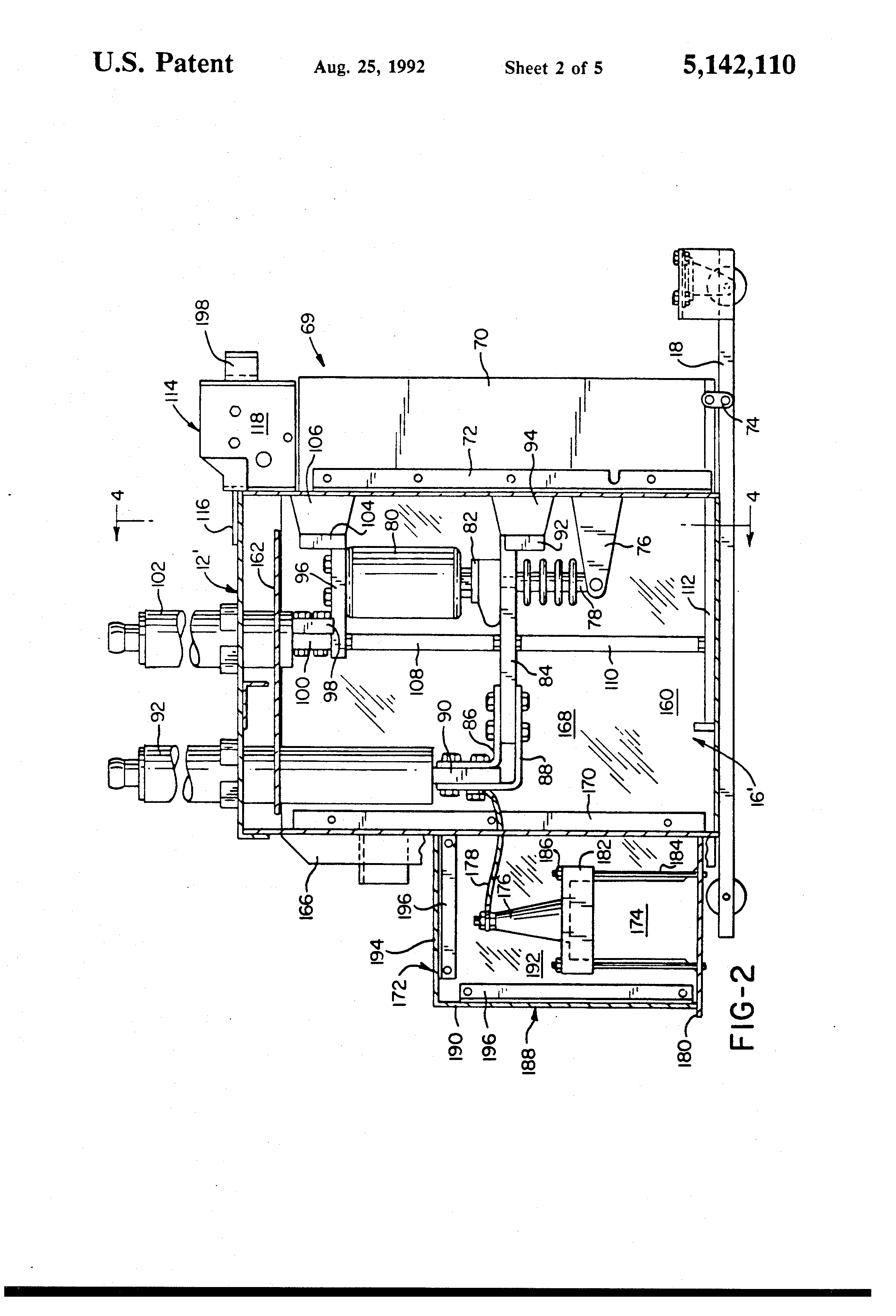 US5142110 2 patent us5142110 modified magne blast circuit breaker and method magne blast wiring diagram at mifinder.co