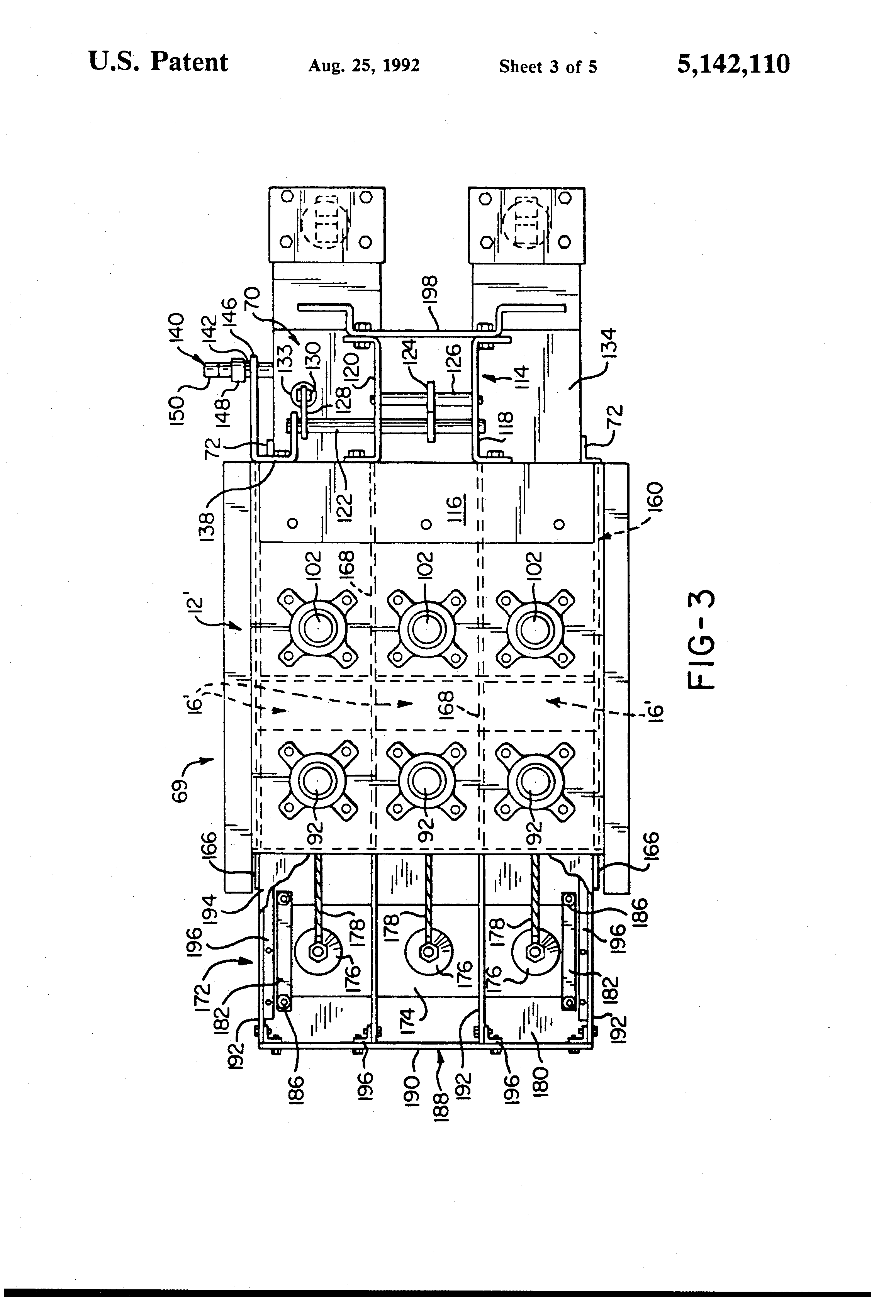 US5142110 3 patent us5142110 modified magne blast circuit breaker and method magne blast wiring diagram at mifinder.co