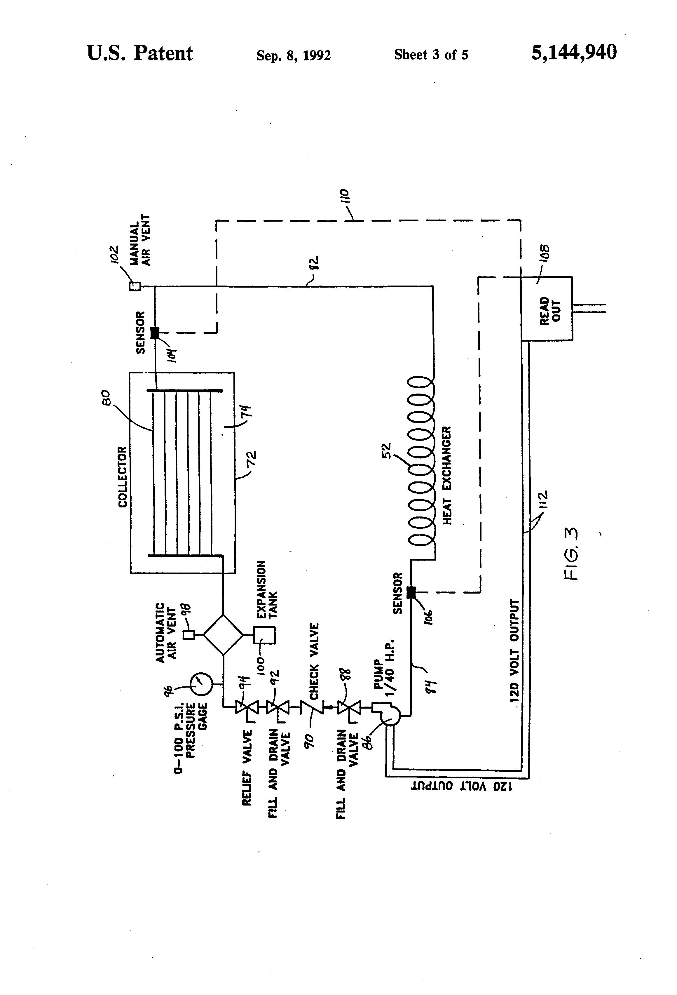 patent us5144940 compost water heater and method google patents sunheat repair at Sunheat Heater Wiring Diagram