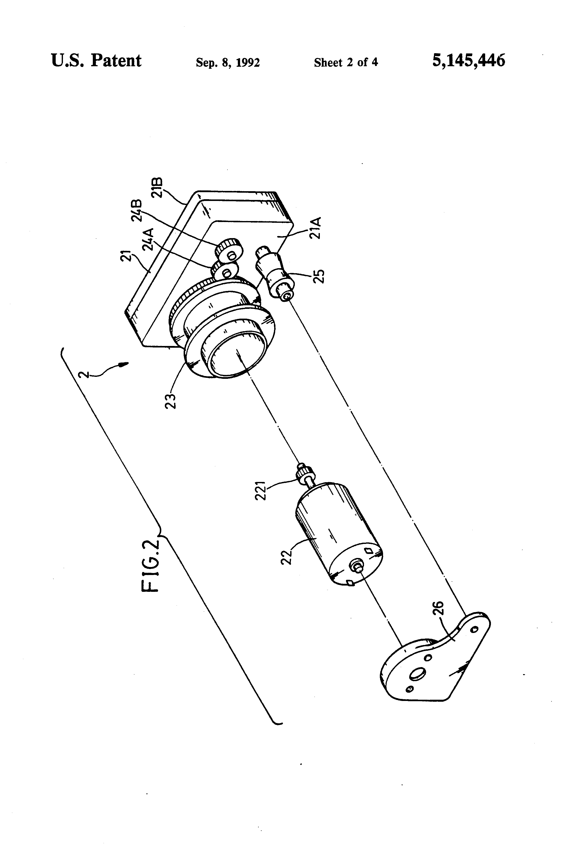 patent us5145446