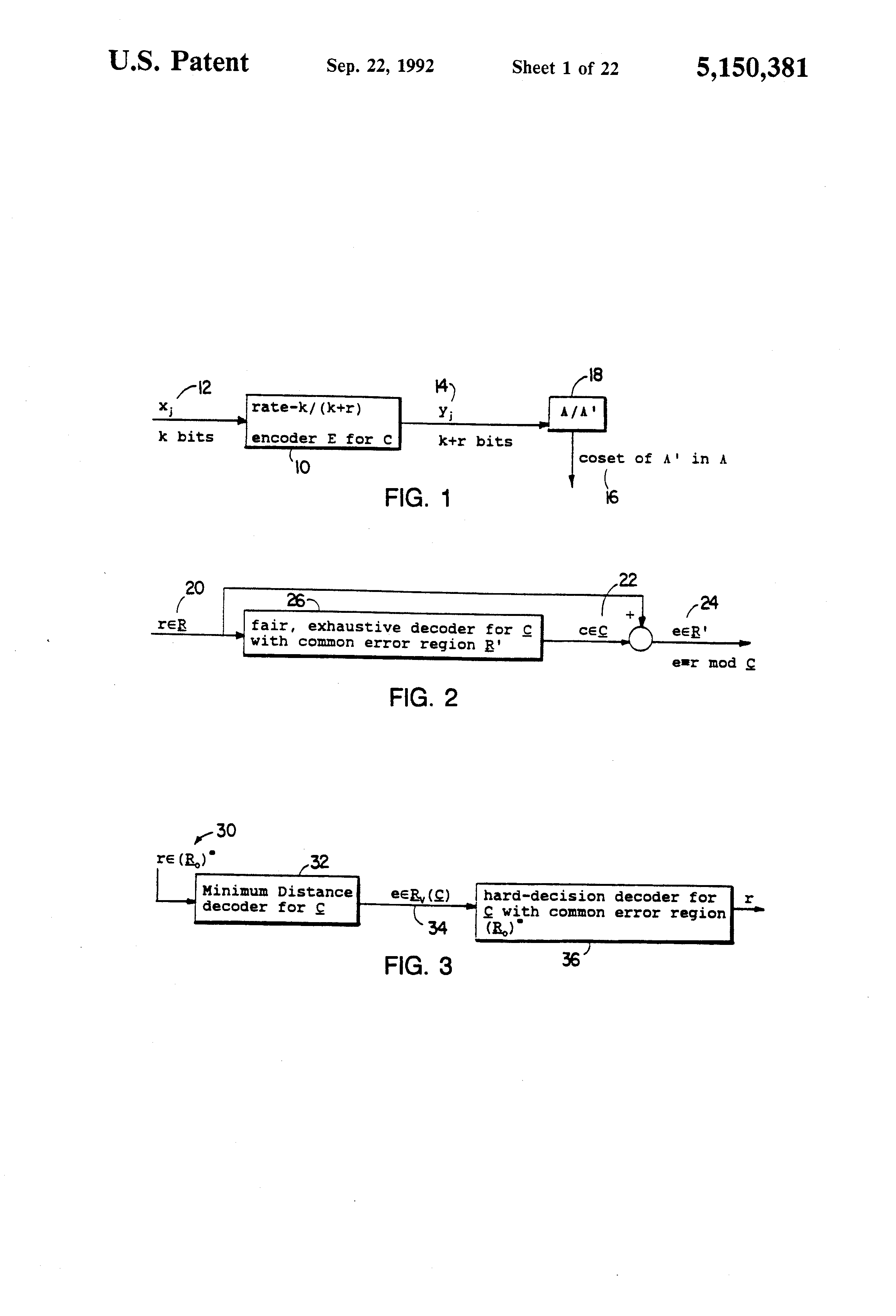 Patent Us5150381 Trellis Shaping For Modulation Systems Google Alphanet Experiment 2 Half Adder Drawing