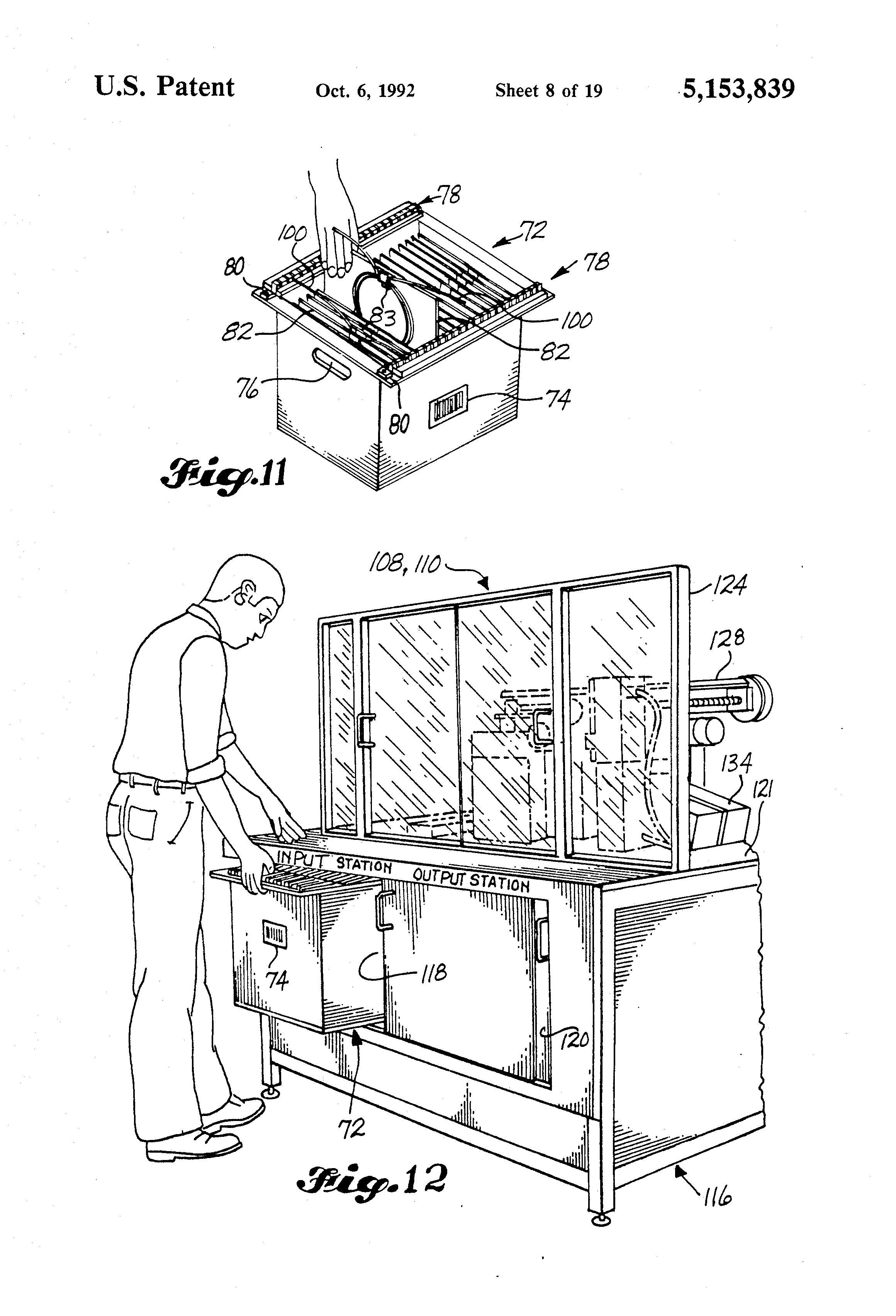 patent us5153839