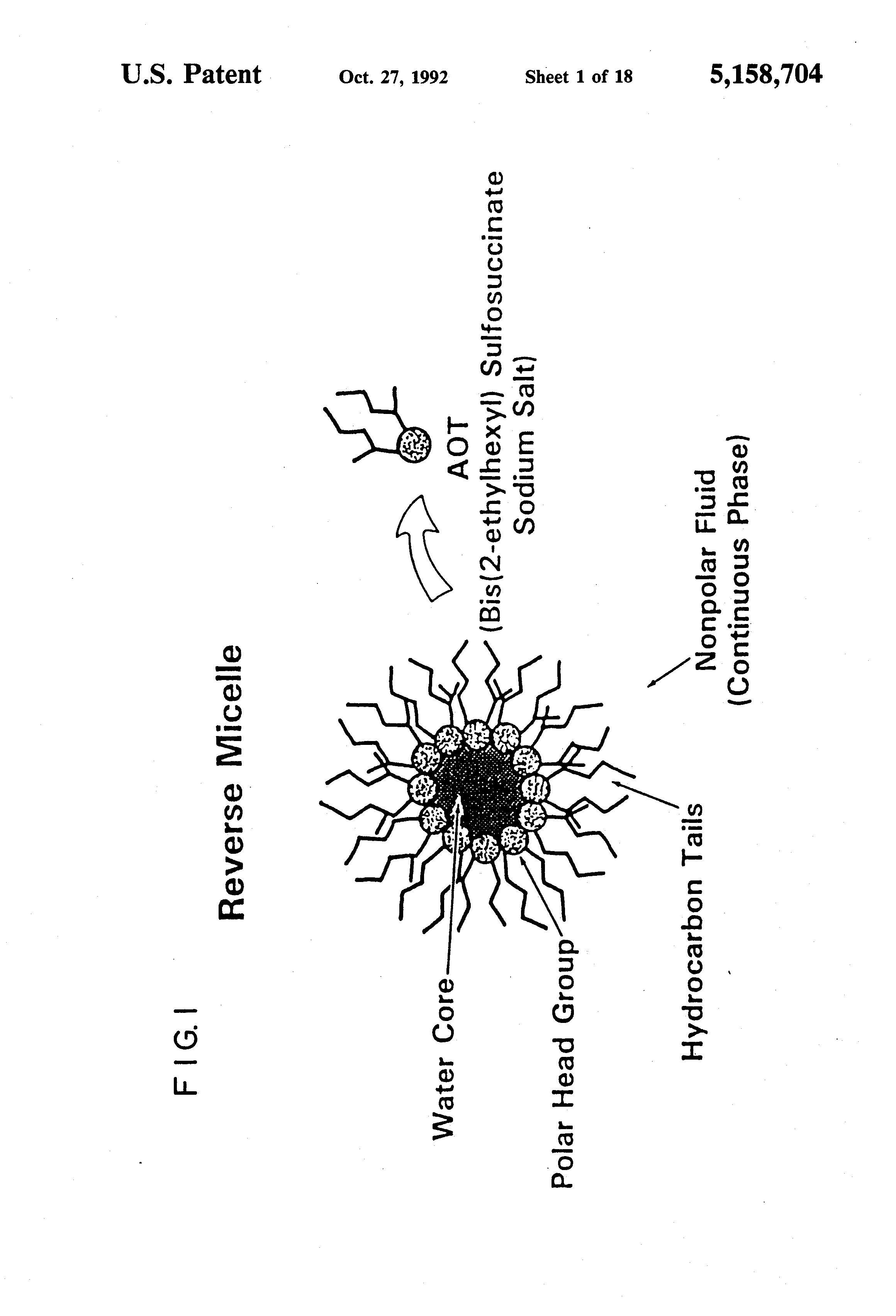patent us5158704