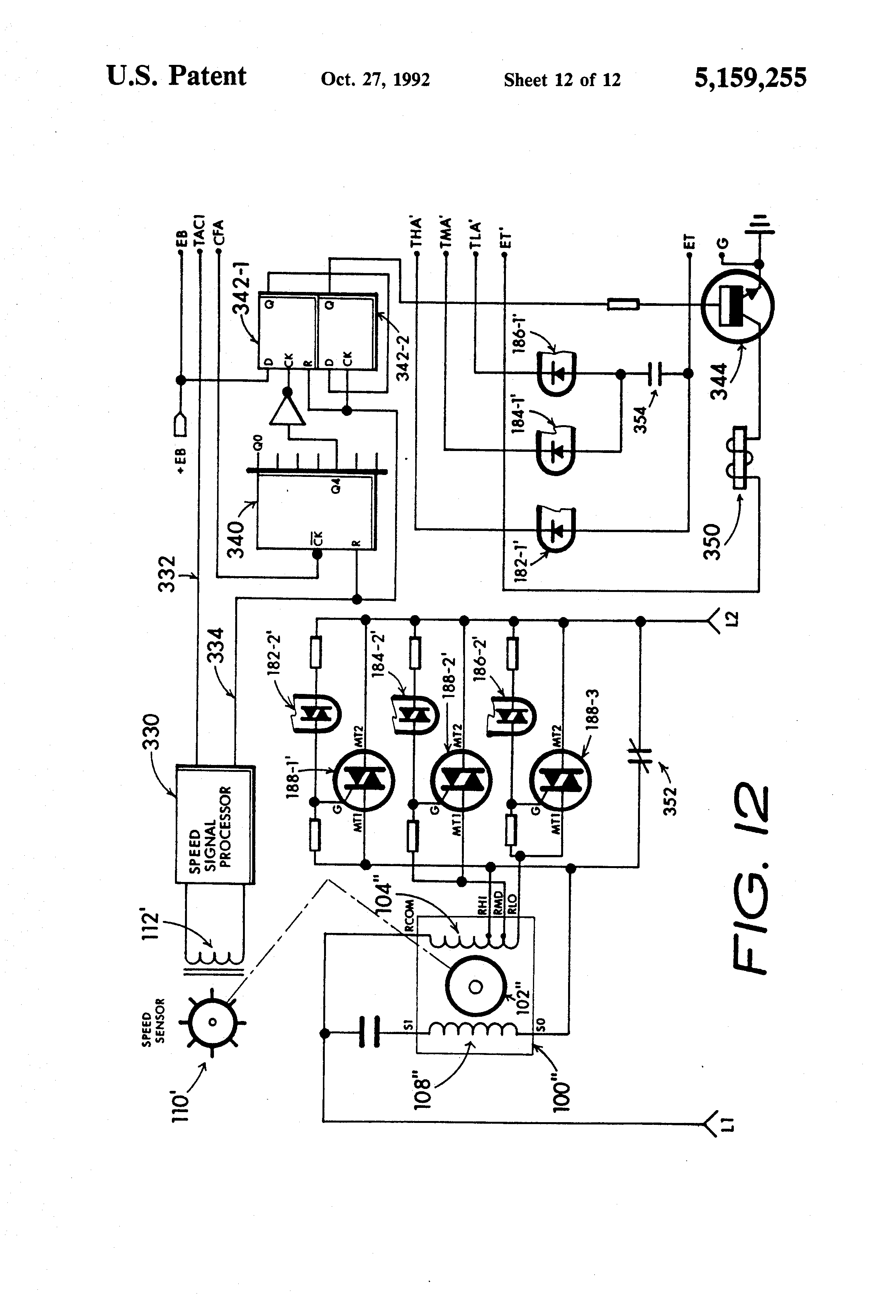 patent us5159255 energy conserving electric induction