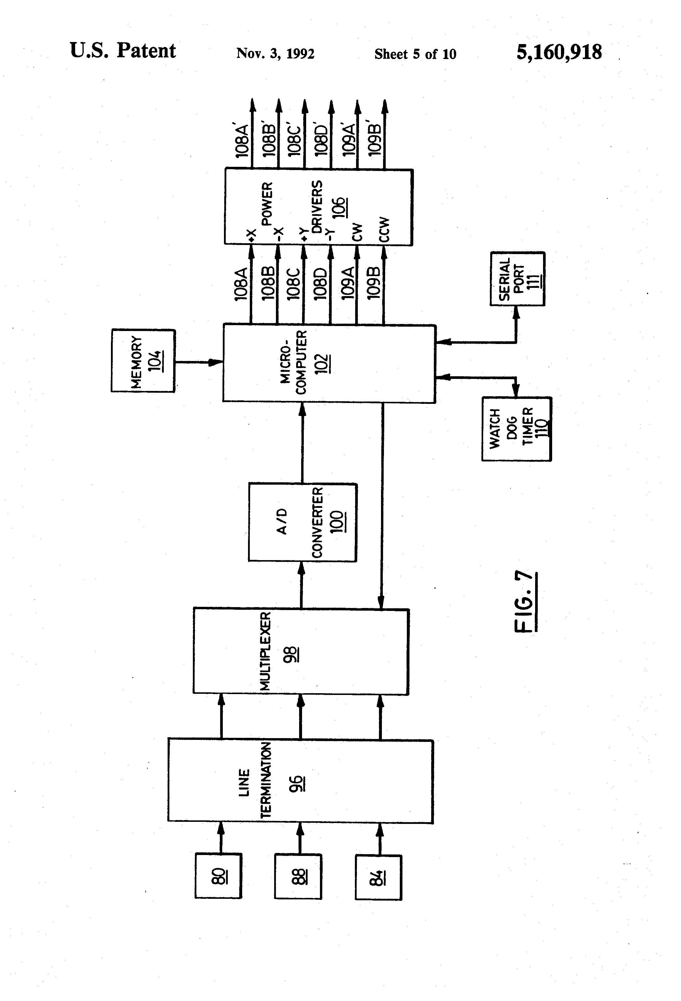 US5160918 5 patent us5160918 joystick controller employing hall effect sauer danfoss joystick wiring diagram at cos-gaming.co