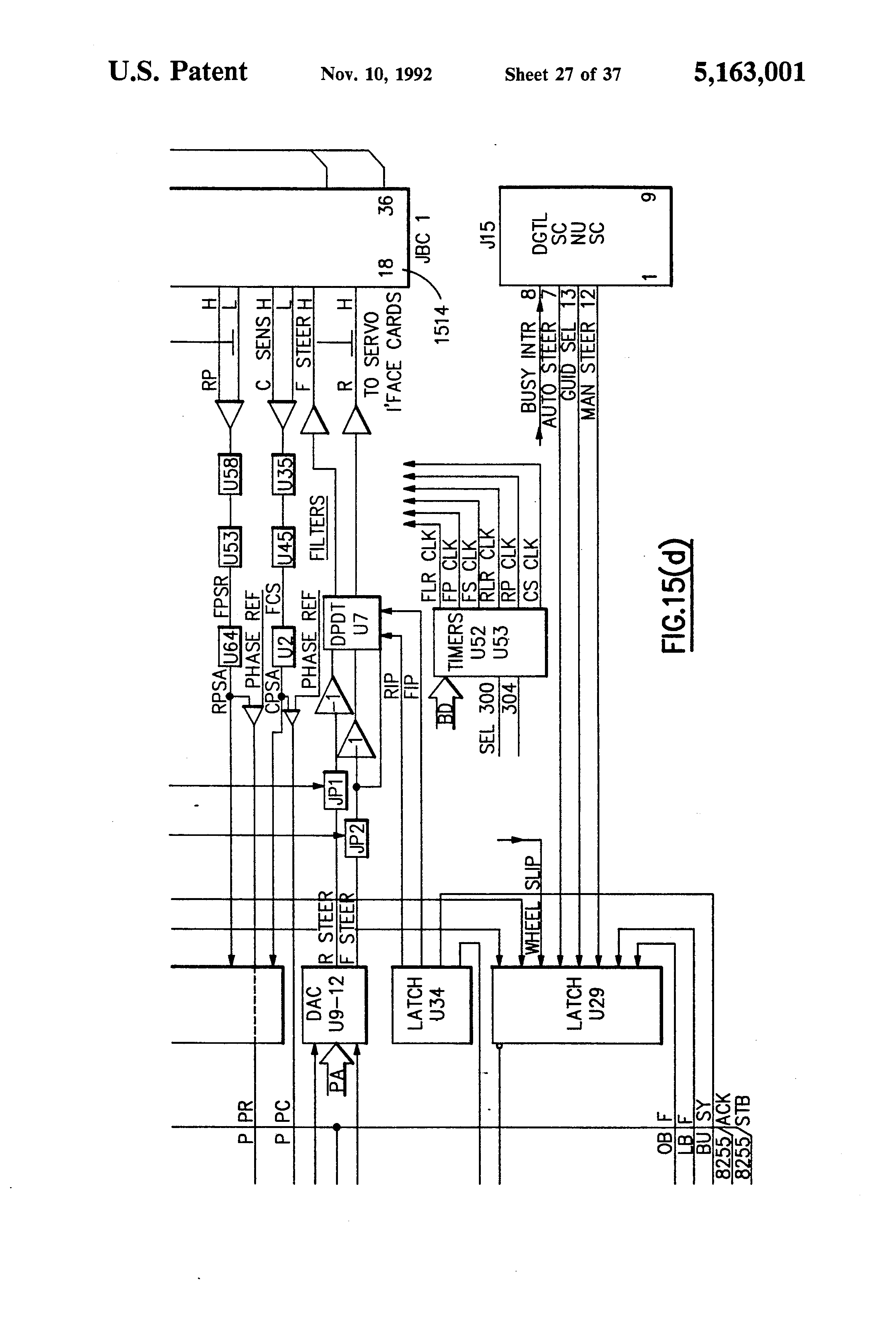 US5163001 27 patent us5163001 interactive display for use on an automatic translogic quick shifter wiring diagram at virtualis.co
