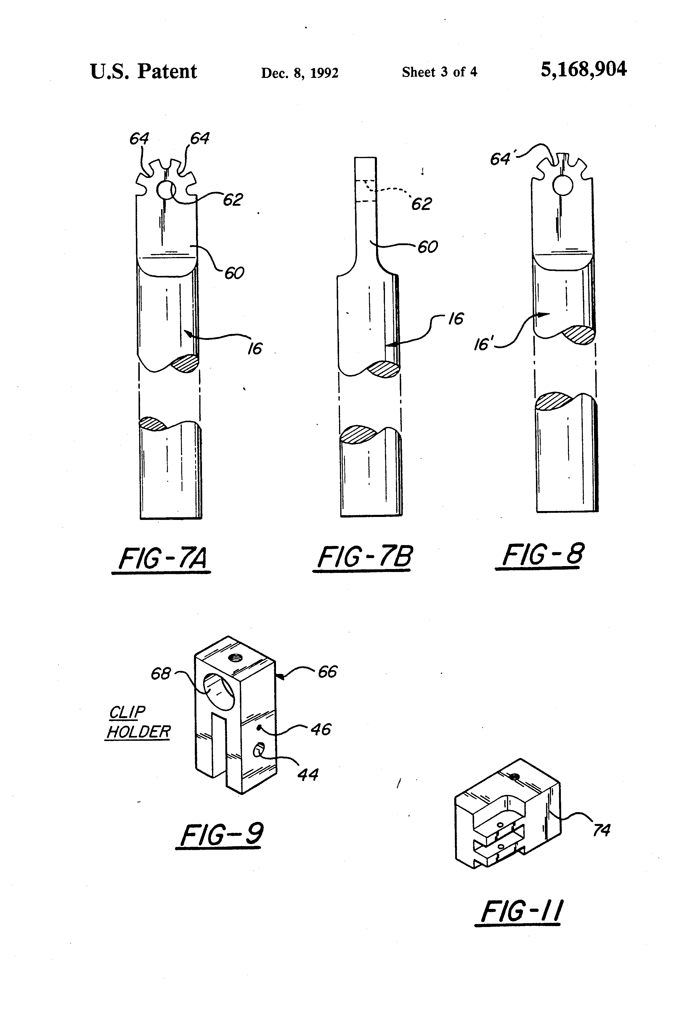 patent us5168904 reconfigurable wiring harness jig google patents patent drawing