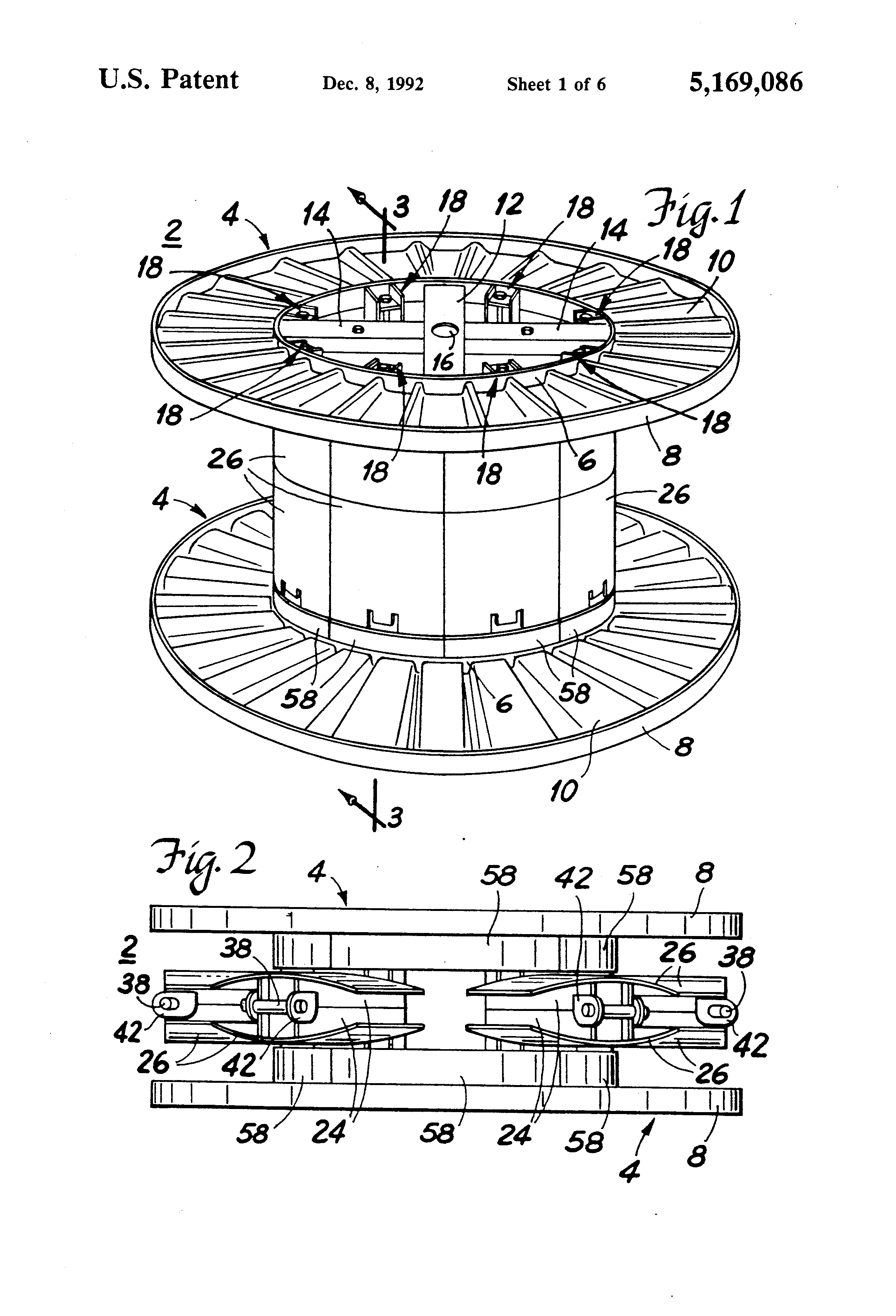 patent us5169086