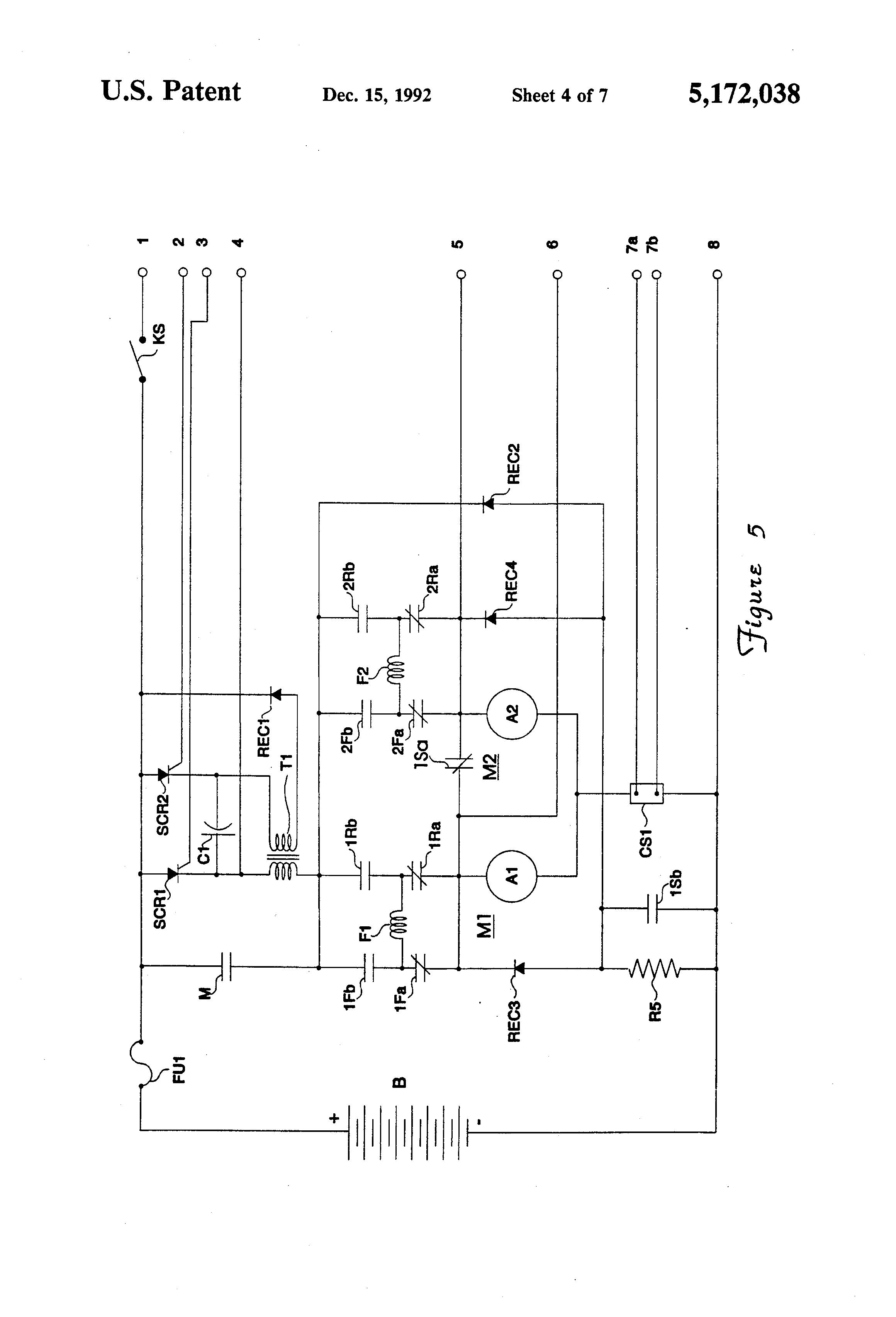 Patent Us5172038 Peak Current Control In The Armature Of