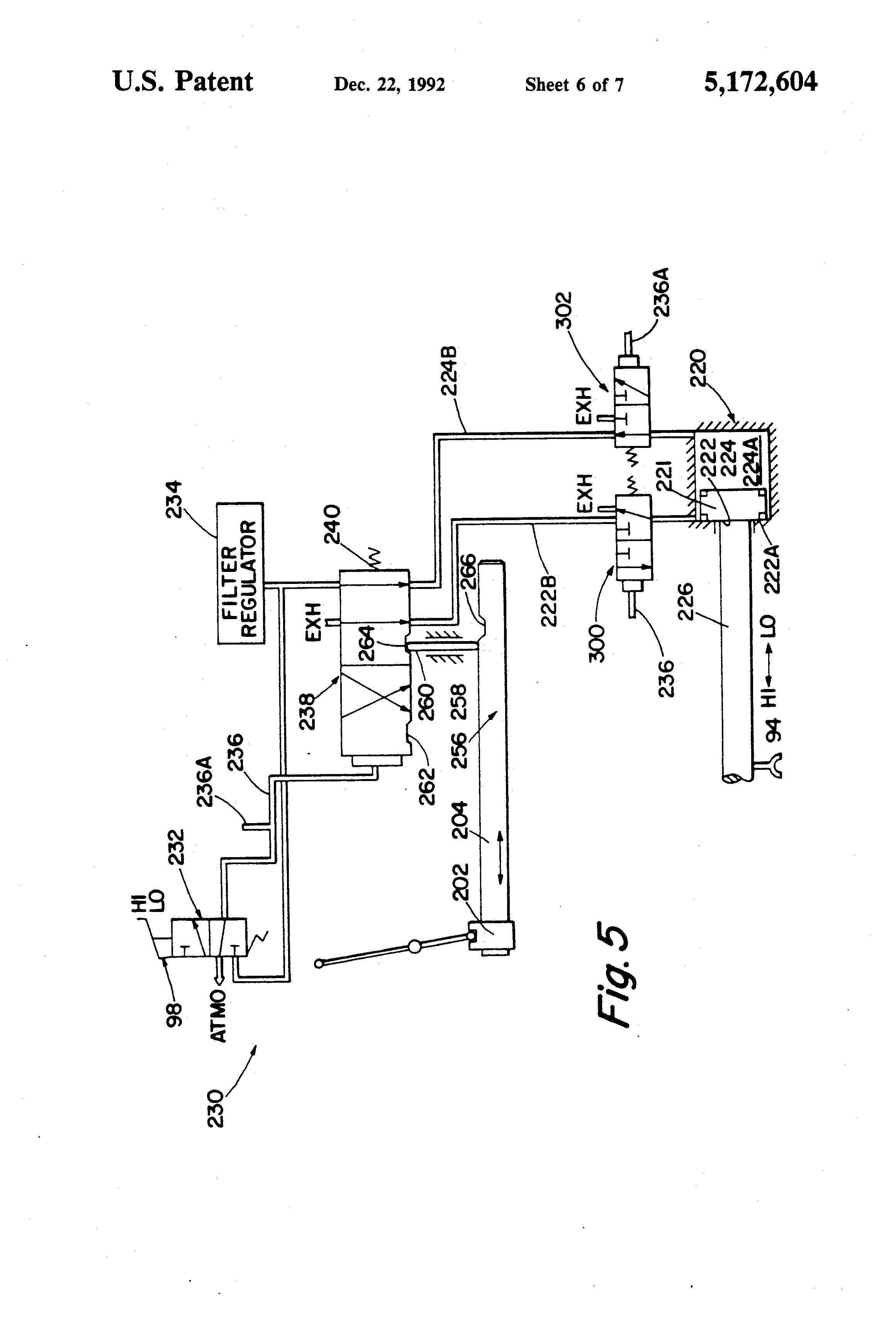 patent us5172604 - range section preexhaust
