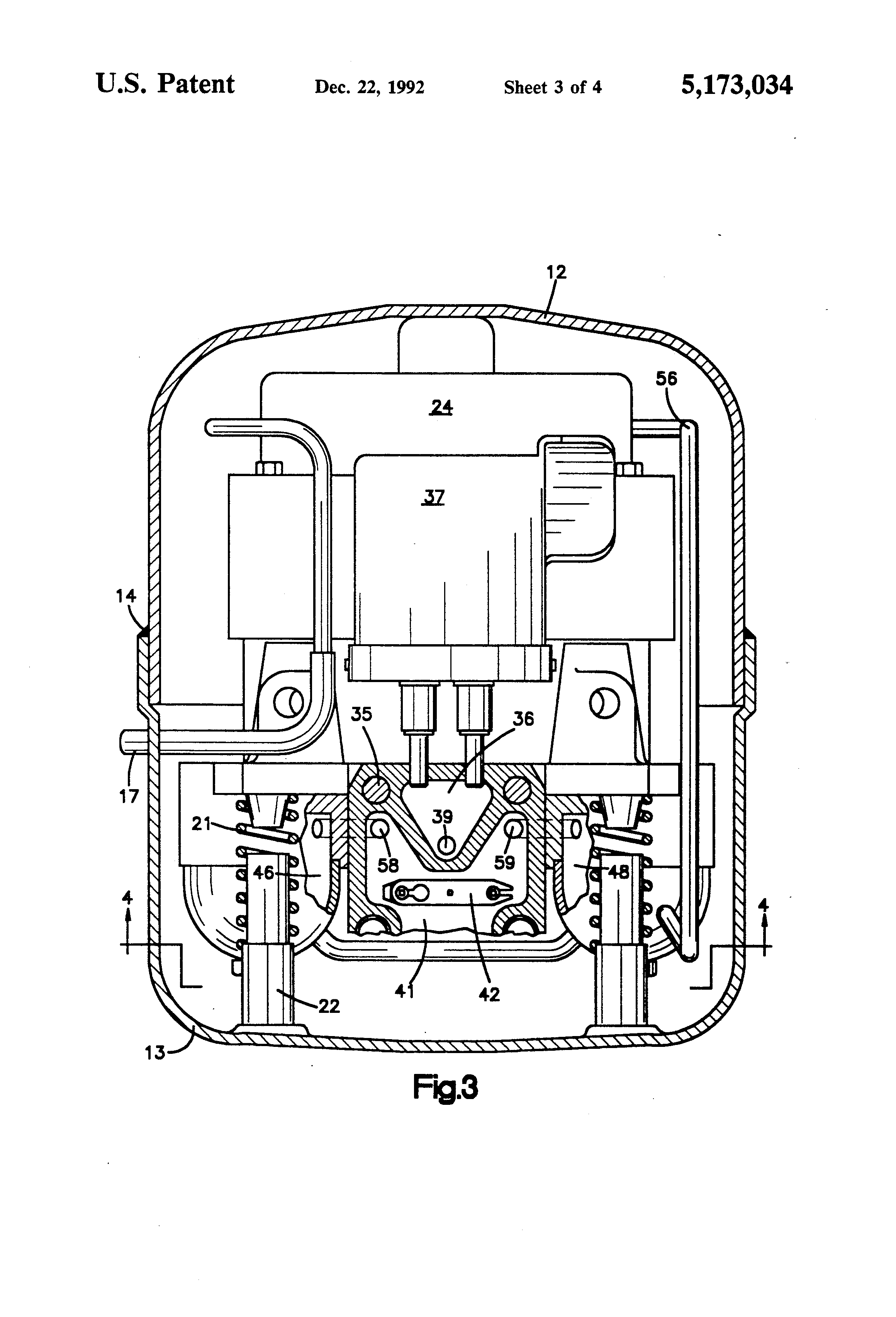 semi hermetic compressor diagram