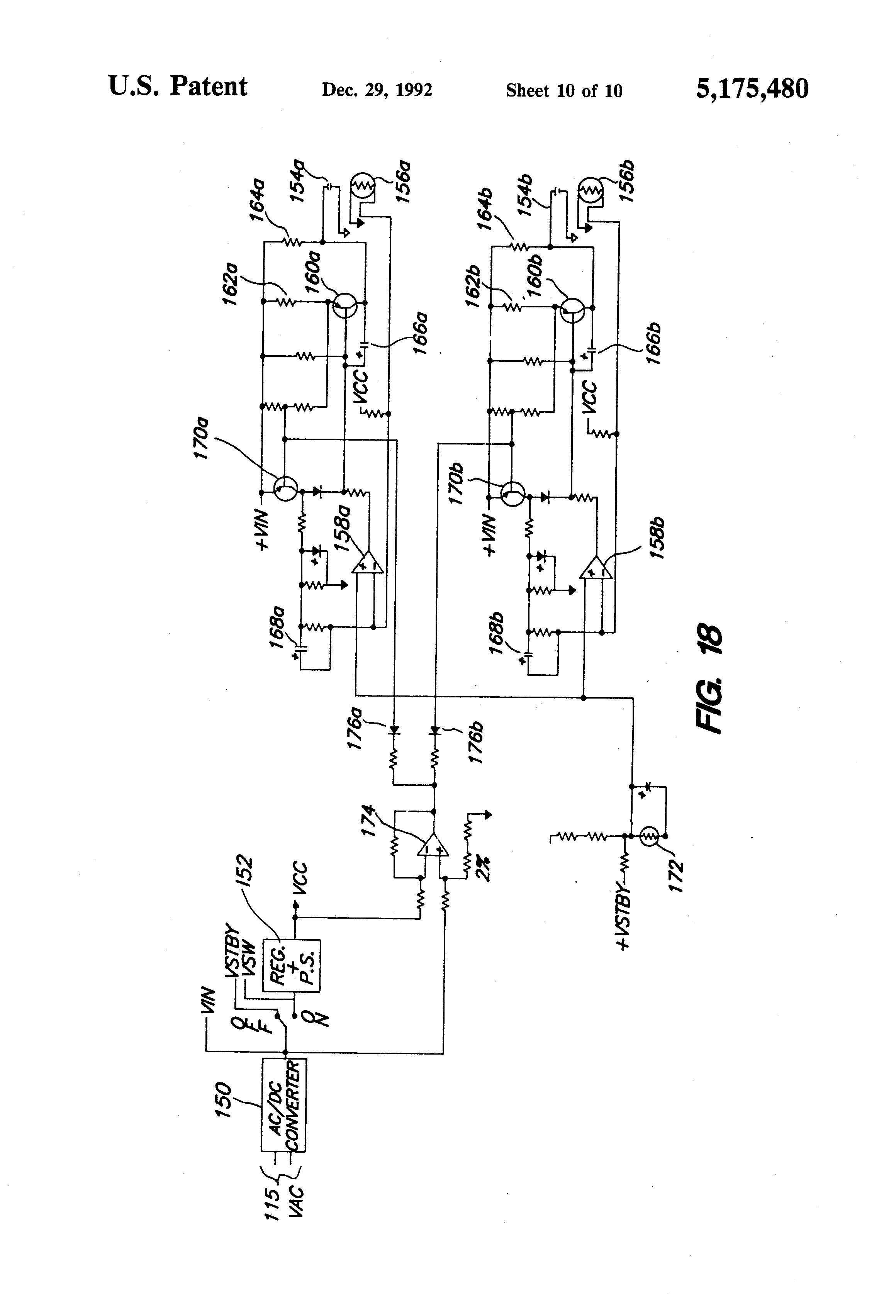 Patent Us5175480 Vehicle Guidance And Control Systems Methods Race Car Wiring Diagram Alternative Drawing