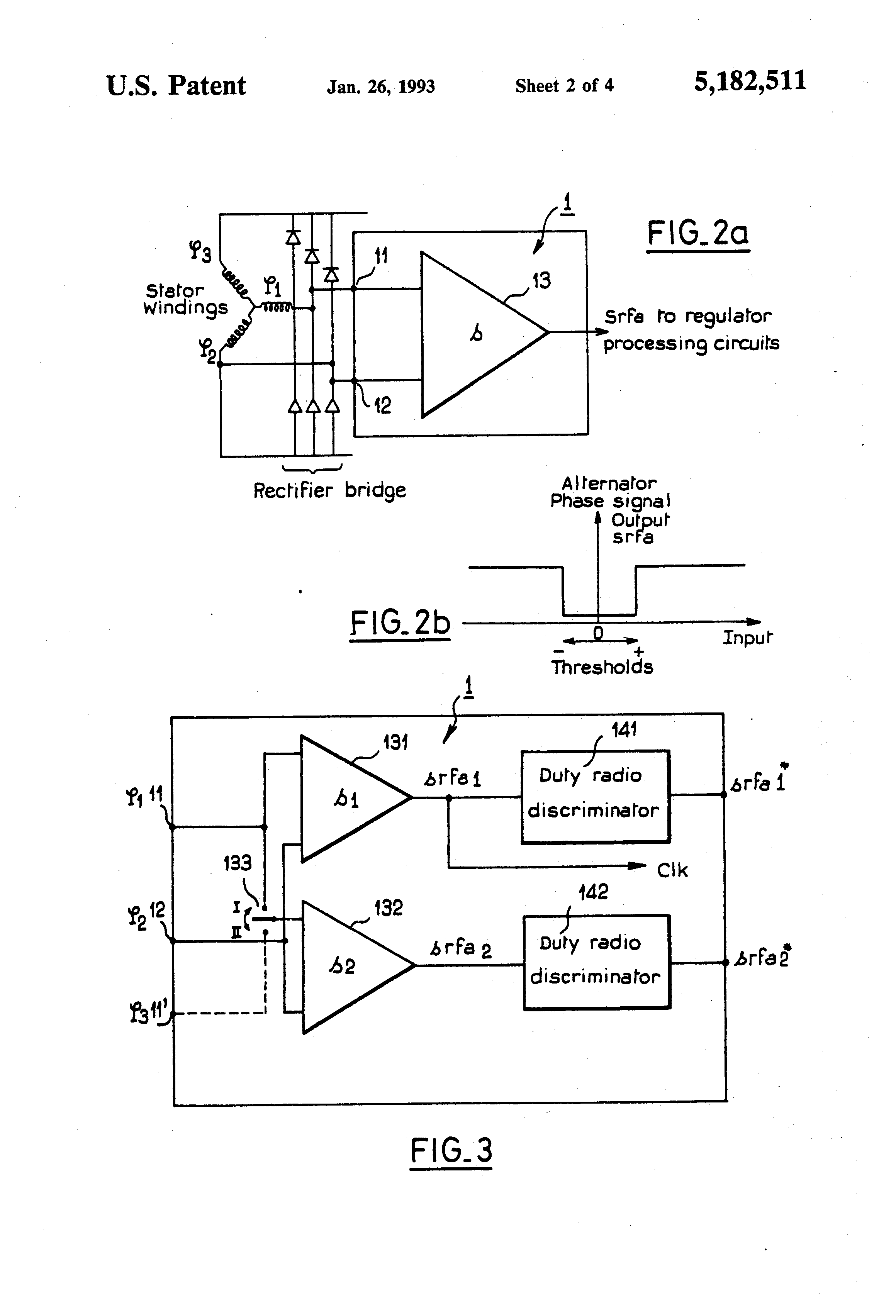 patent us5182511 detector circuit for detecting a phase signal ofPatent Us6707276 Voltage Regulator Of Ac Generator Having Circuit #5