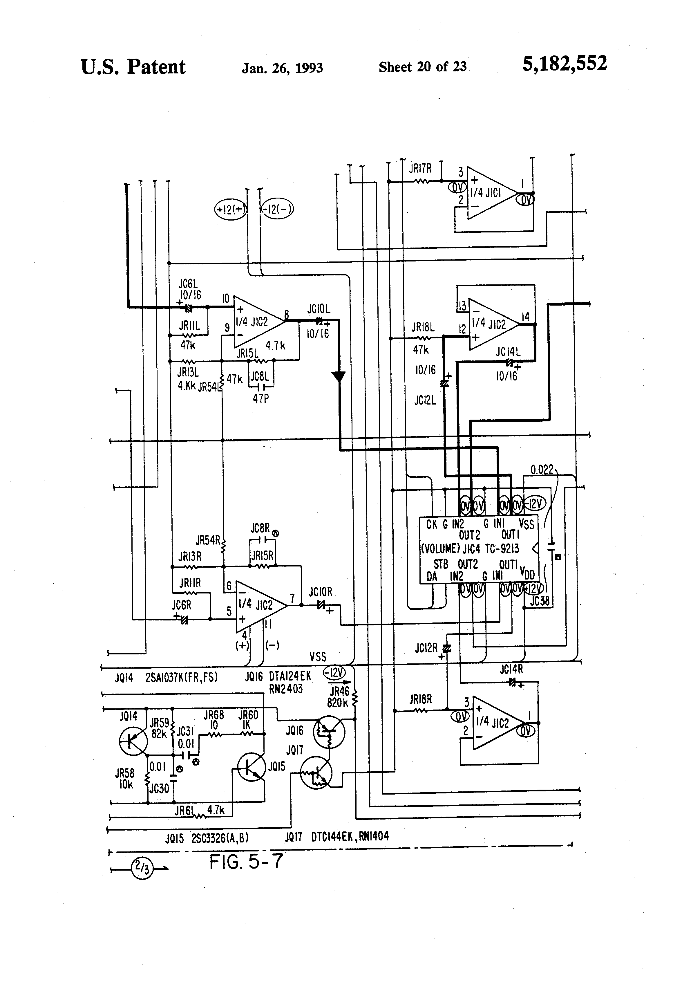 patent us5182552 - multiple zone audio system