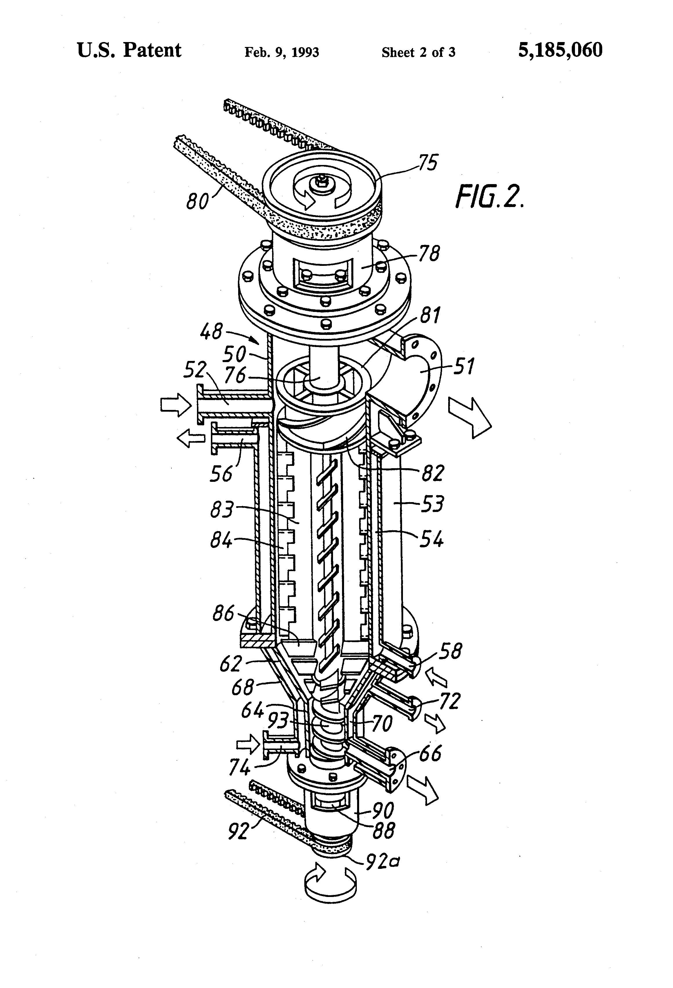 patent us5185060 - film evaporator