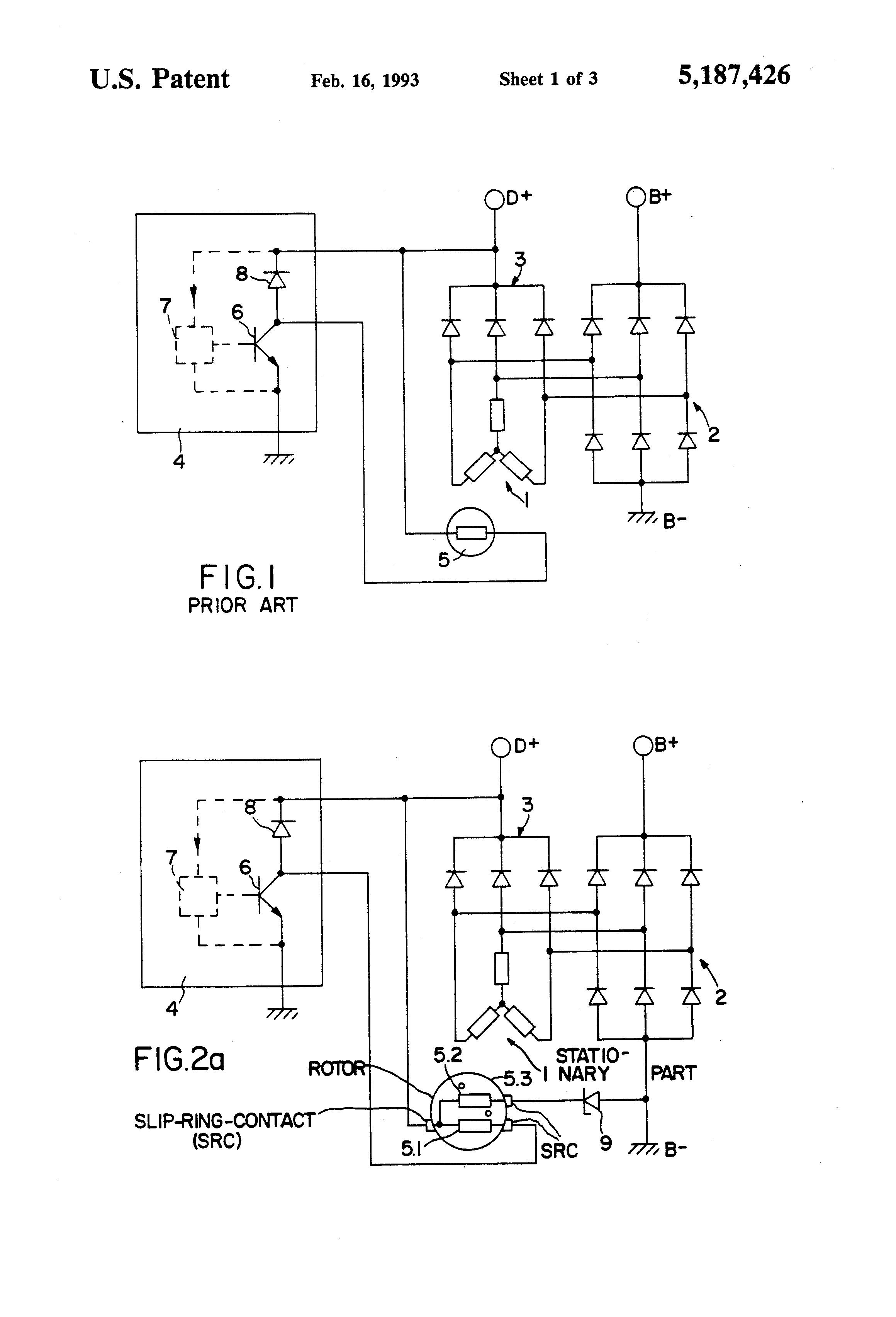 US5187426 1 patent us5187426 device for limiting the terminal voltage in an mecc alte alternators wiring diagram at gsmportal.co